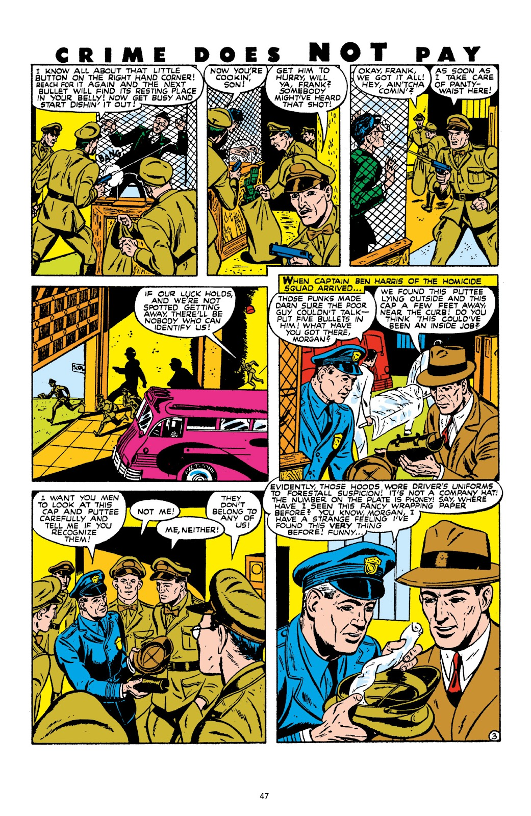 Read online Crime Does Not Pay Archives comic -  Issue # TPB 10 (Part 1) - 49