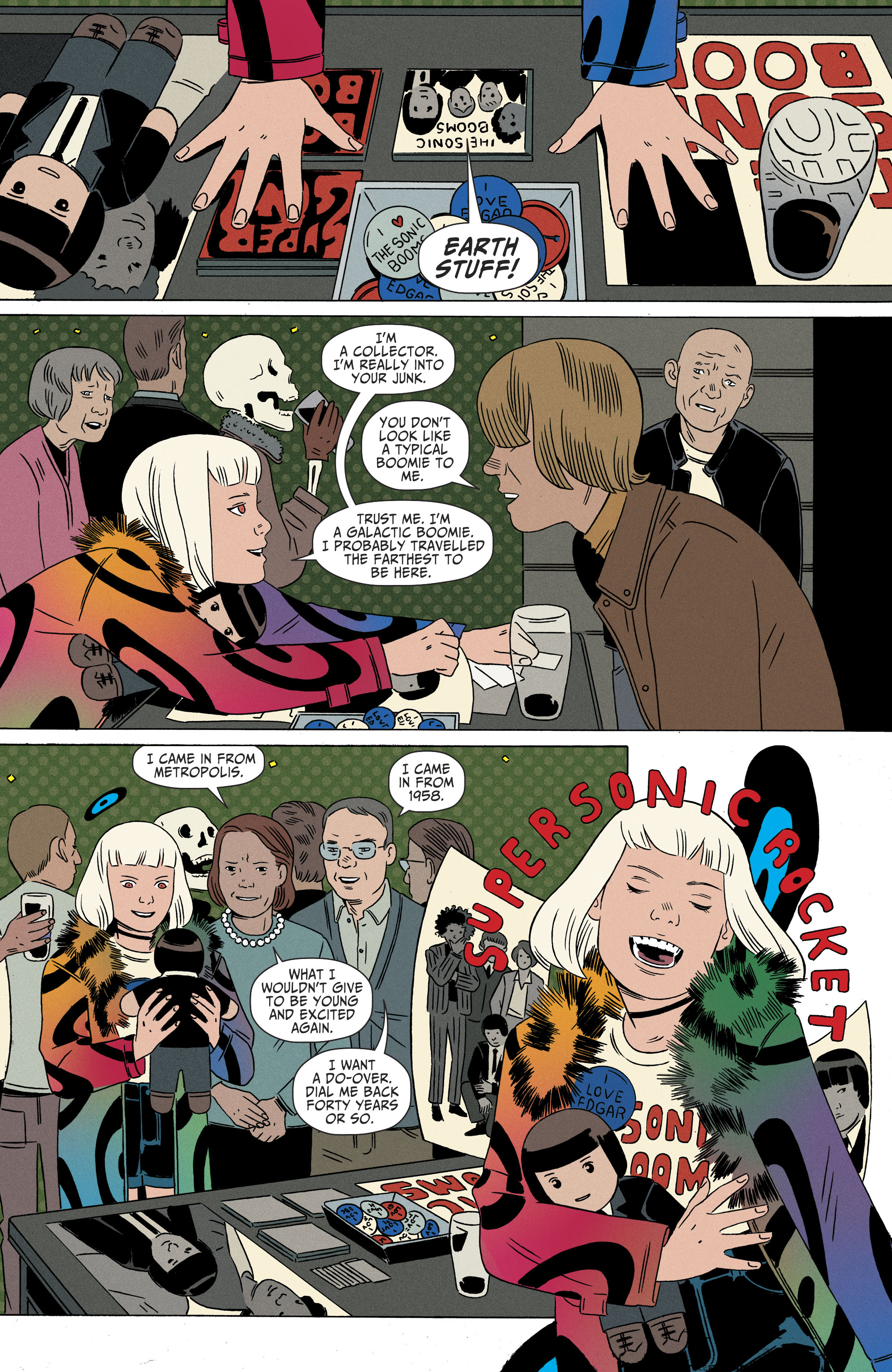 Read online Shade, the Changing Girl comic -  Issue #9 - 5