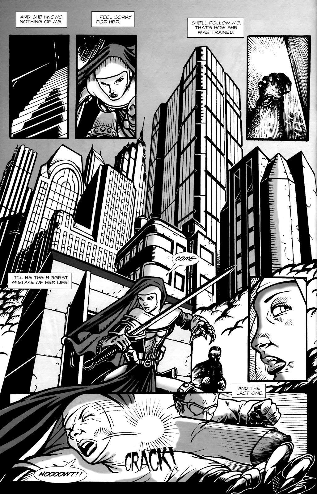 Warrior Nun Areala:  Dangerous Game Issue #1 #1 - English 31