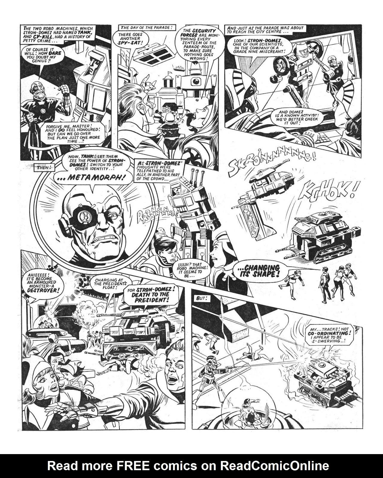 Read online Robo Machines comic -  Issue # TPB - 10