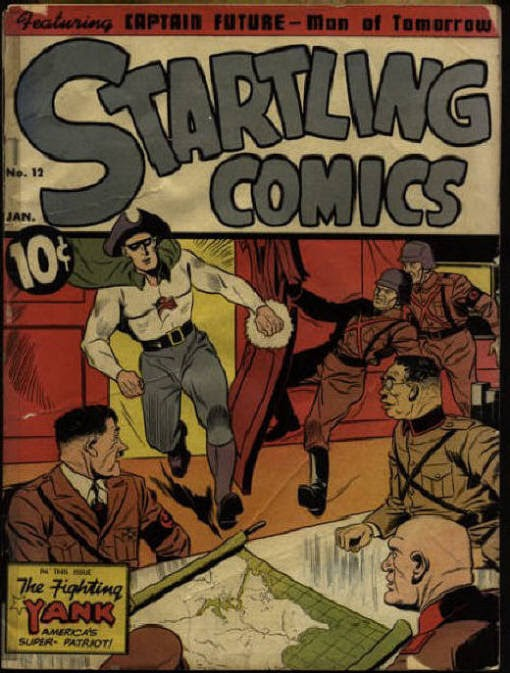 Startling Comics issue 12 - Page 1