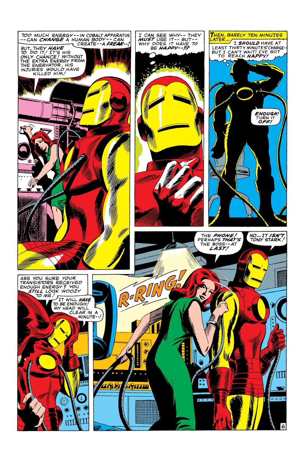 Read online Marvel Masterworks: The Invincible Iron Man comic -  Issue # TPB 3 (Part 2) - 93