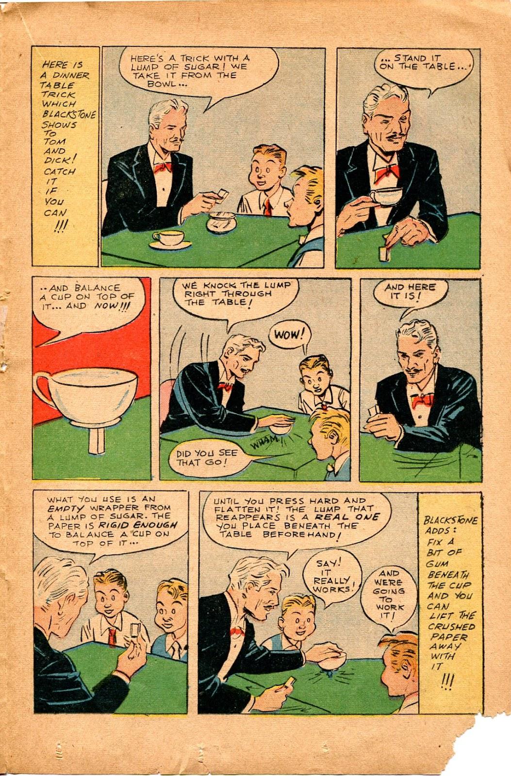 Read online Super-Magician Comics comic -  Issue #34 - 29