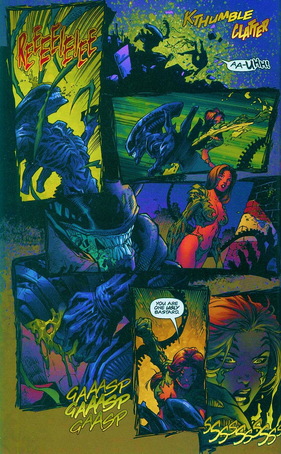Read online Overkill: Witchblade/Aliens/Darkness/Predator comic -  Issue #2 - 21