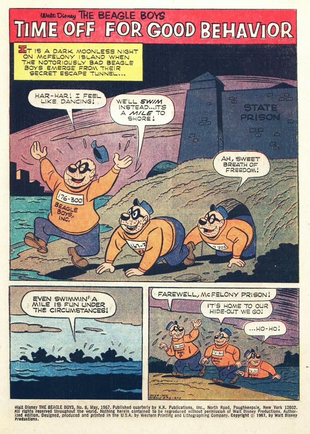 Walt Disney THE BEAGLE BOYS issue 6 - Page 3