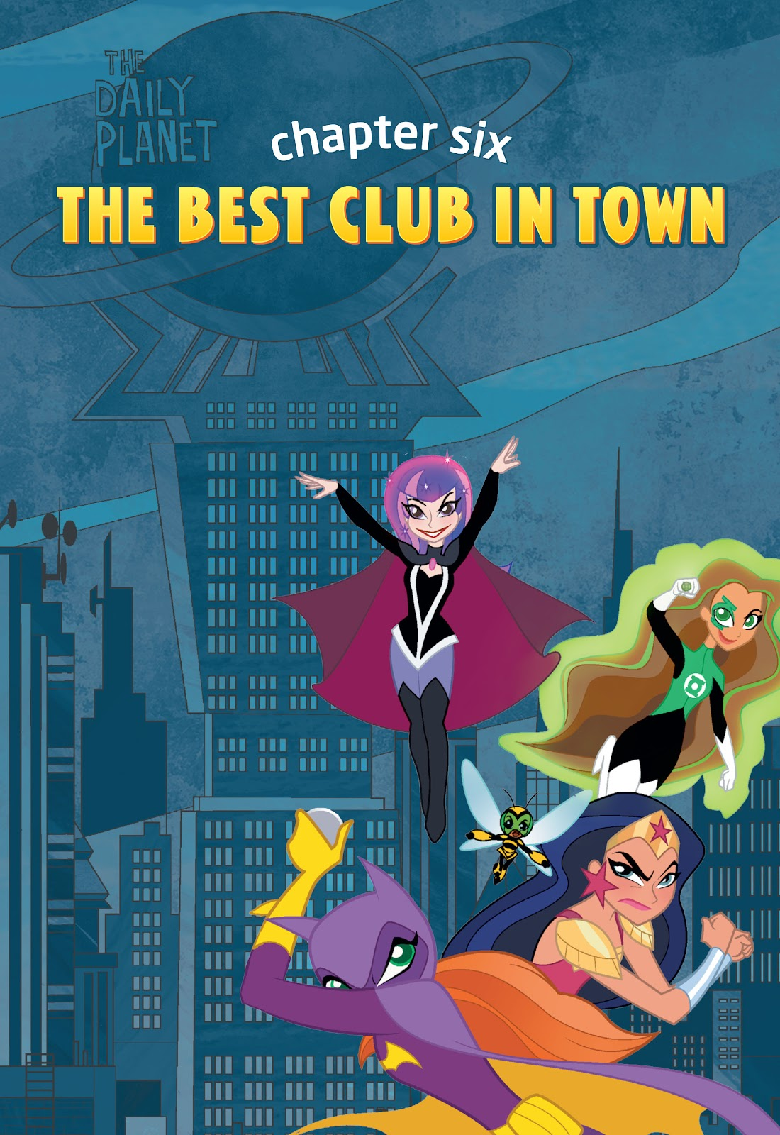 Read online DC Super Hero Girls: At Metropolis High comic -  Issue # TPB - 110