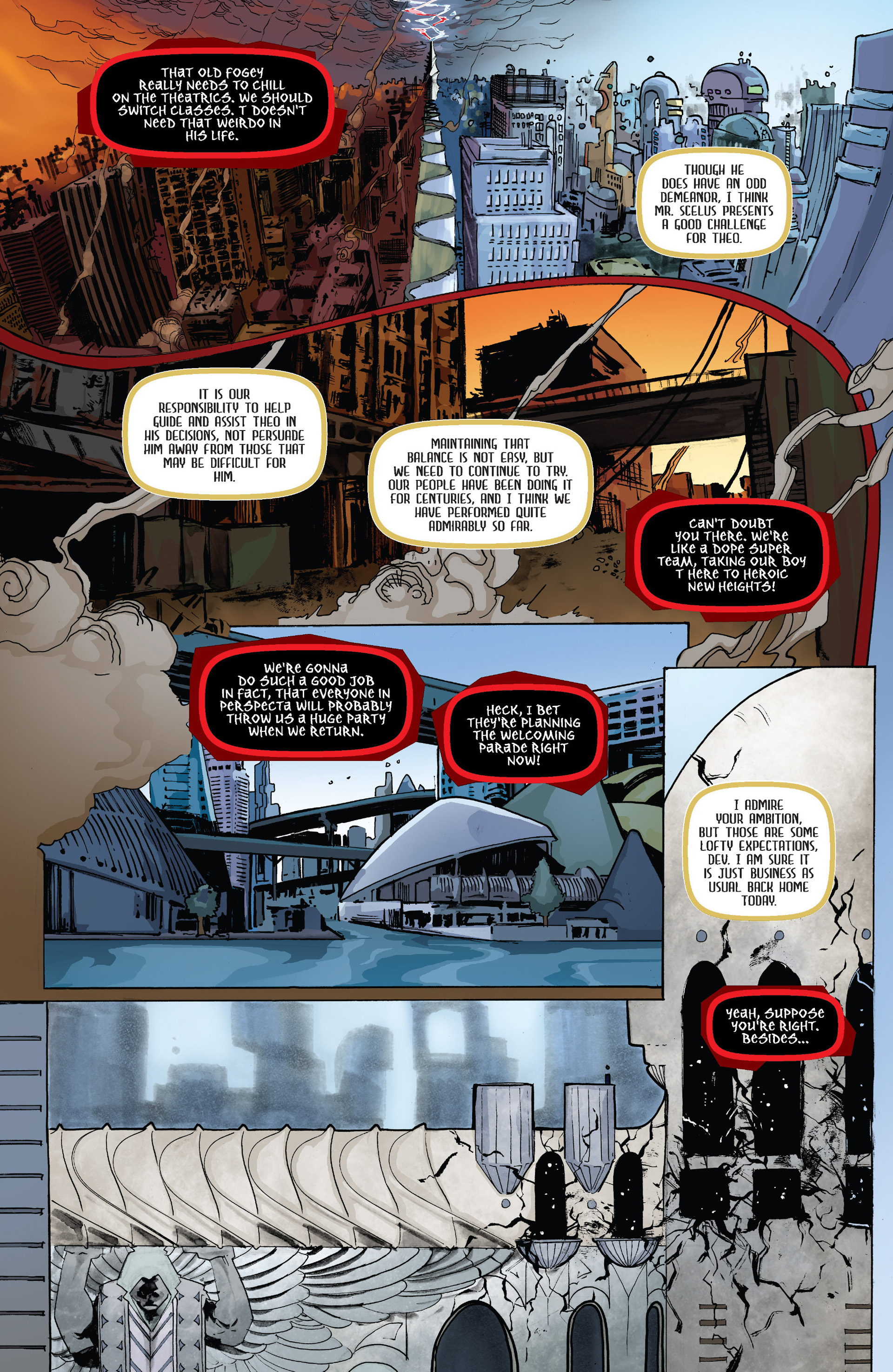 Read online Shrugged (2013) comic -  Issue #3 - 8