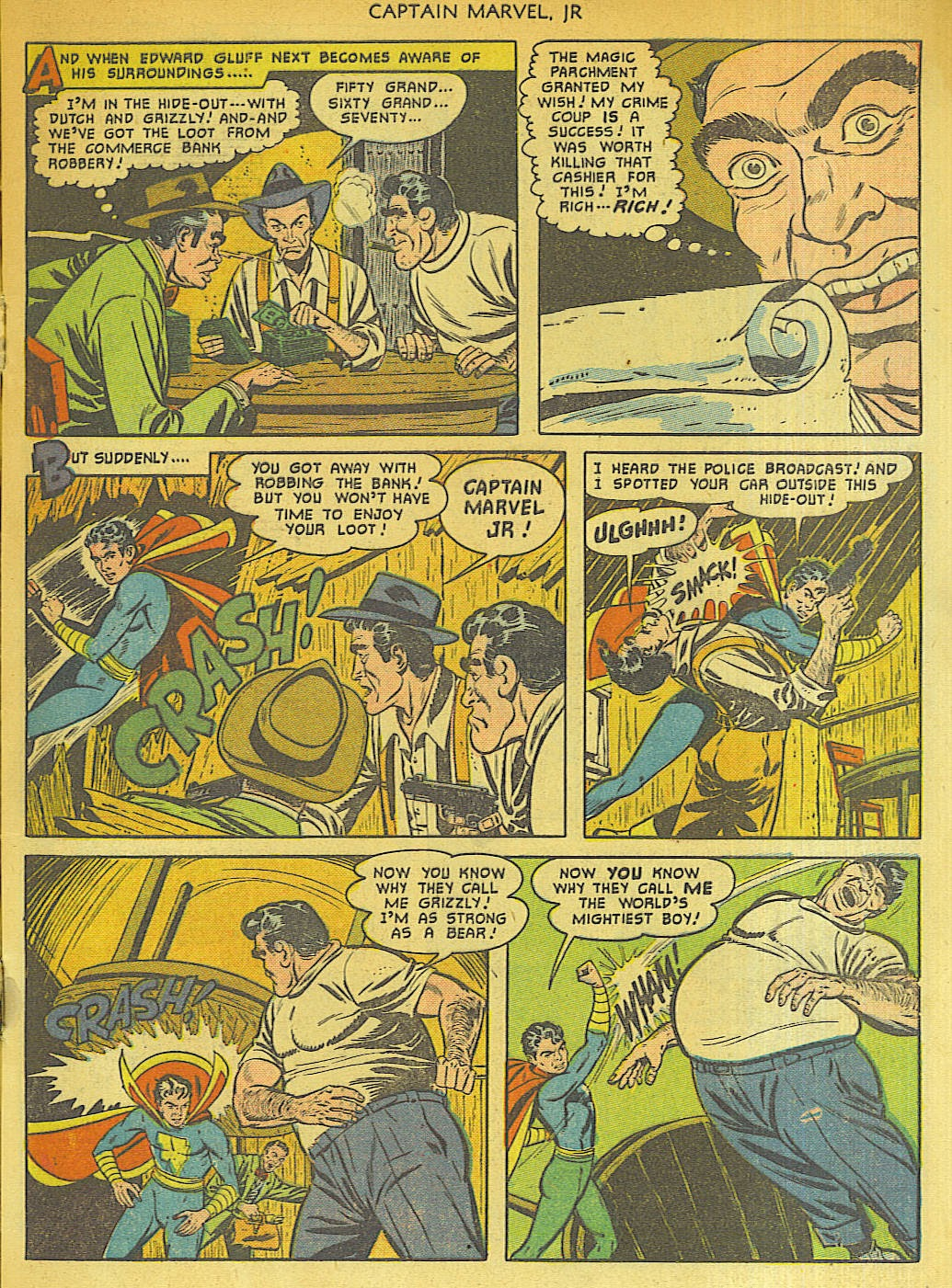 Captain Marvel, Jr. issue 96 - Page 5