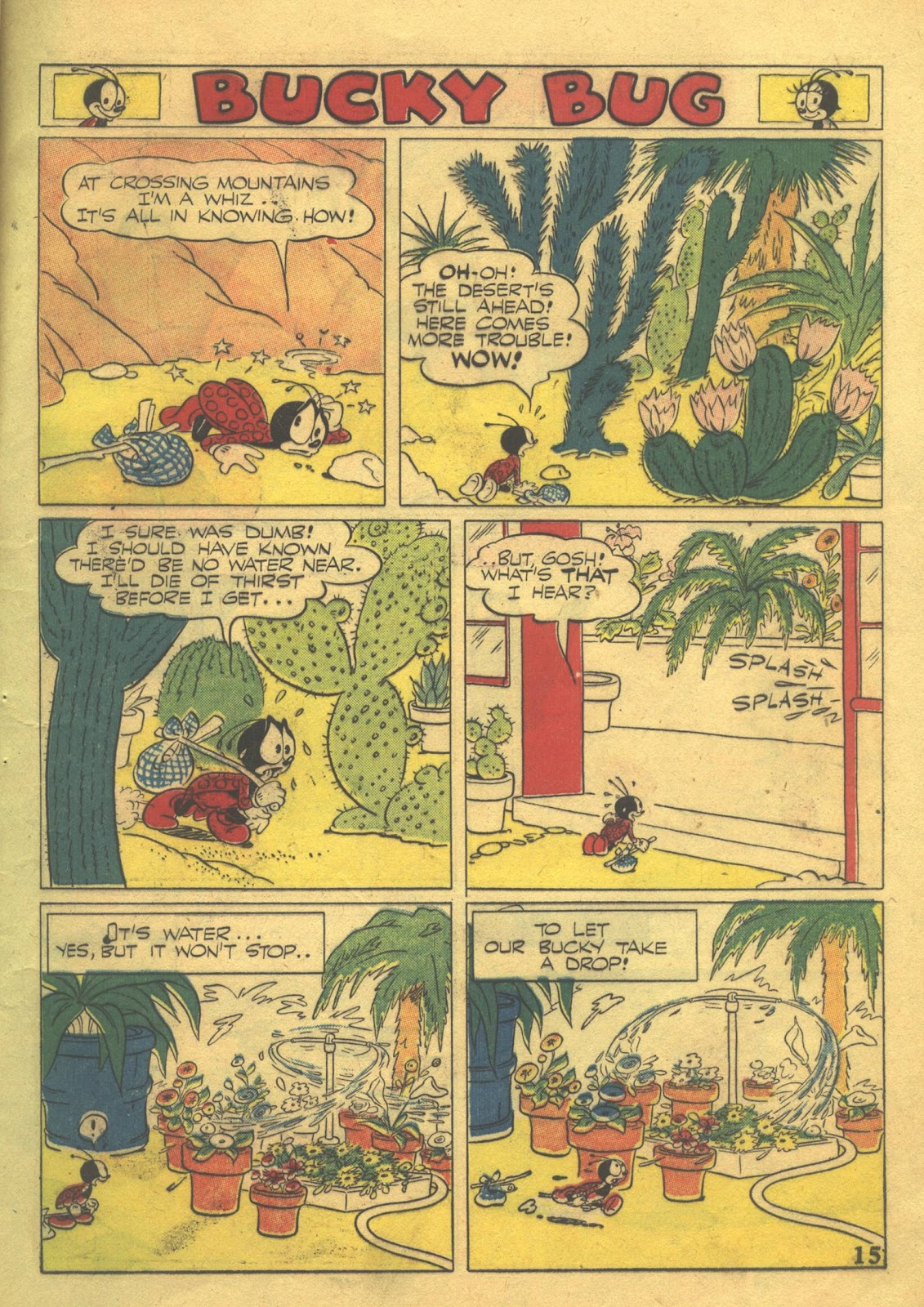 Walt Disney's Comics and Stories issue 39 - Page 17