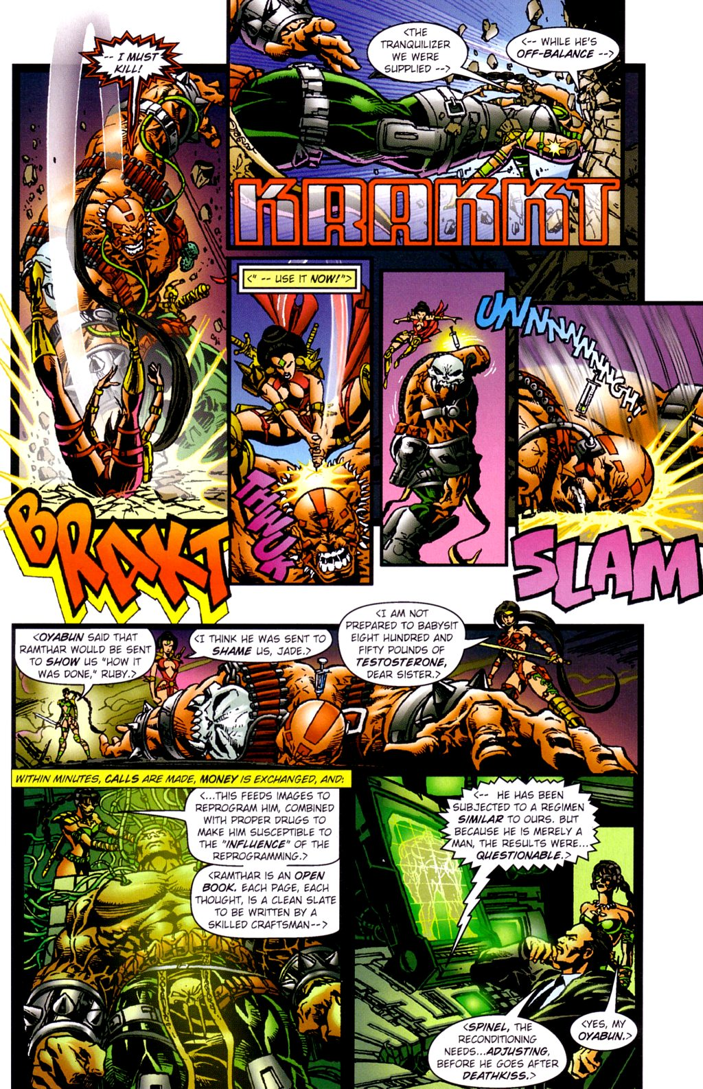 Read online Jade Warriors comic -  Issue #2 - 6
