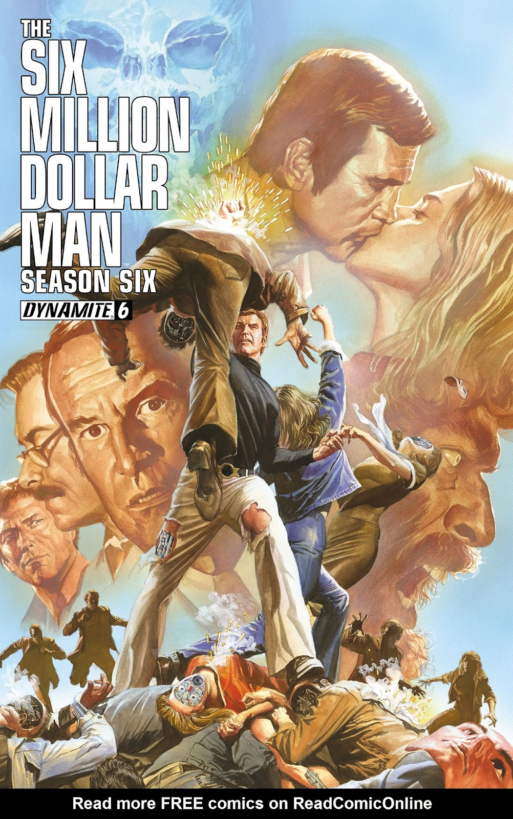 The Six Million Dollar Man: Season Six issue 6 - Page 1
