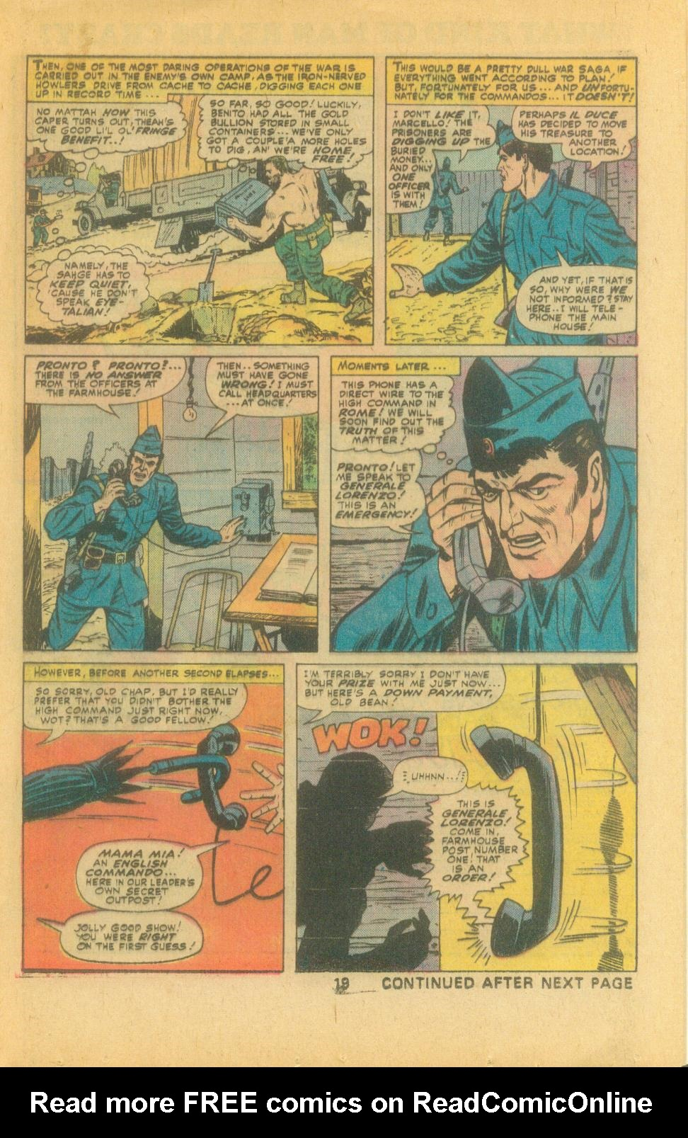 Read online Sgt. Fury comic -  Issue #132 - 21