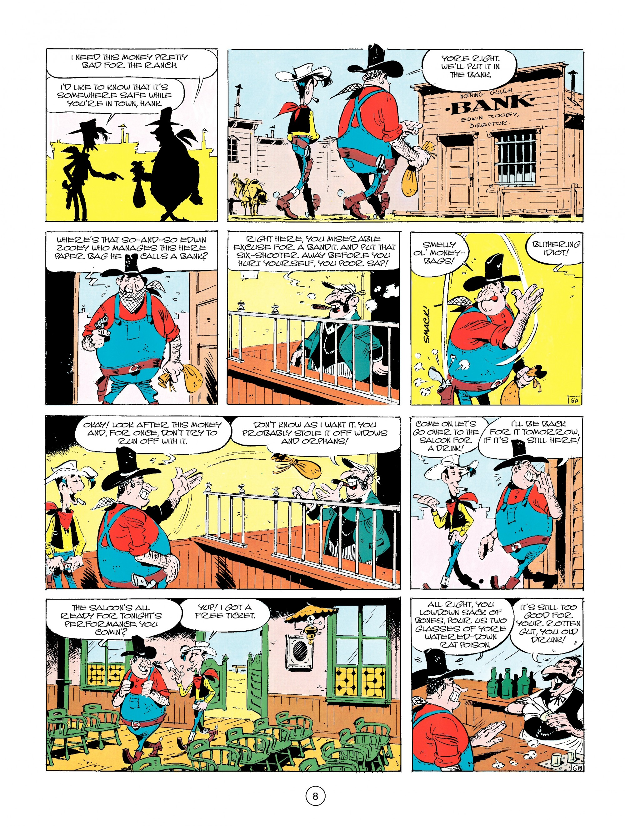 Read online A Lucky Luke Adventure comic -  Issue #14 - 8