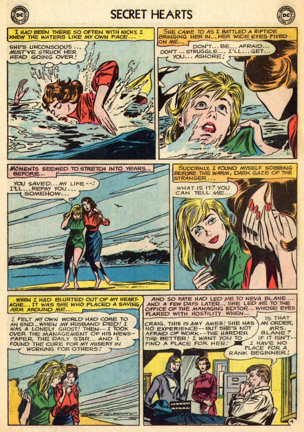 Read online Secret Hearts comic -  Issue #96 - 26