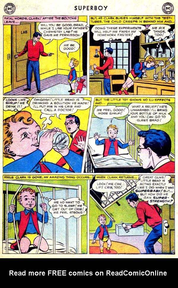 Superboy (1949) issue 70 - Page 3