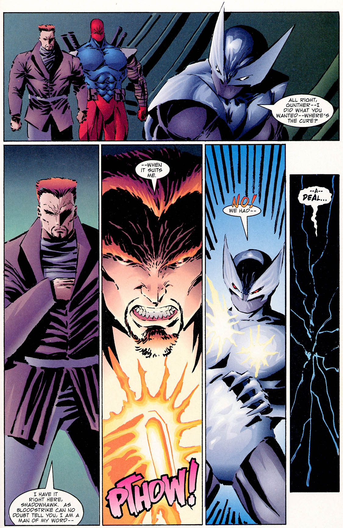 Read online ShadowHawk comic -  Issue #0 - 19