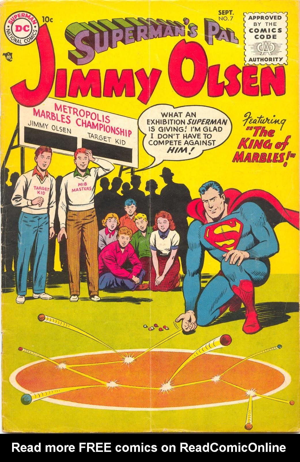 Supermans Pal Jimmy Olsen (1954) 7 Page 1