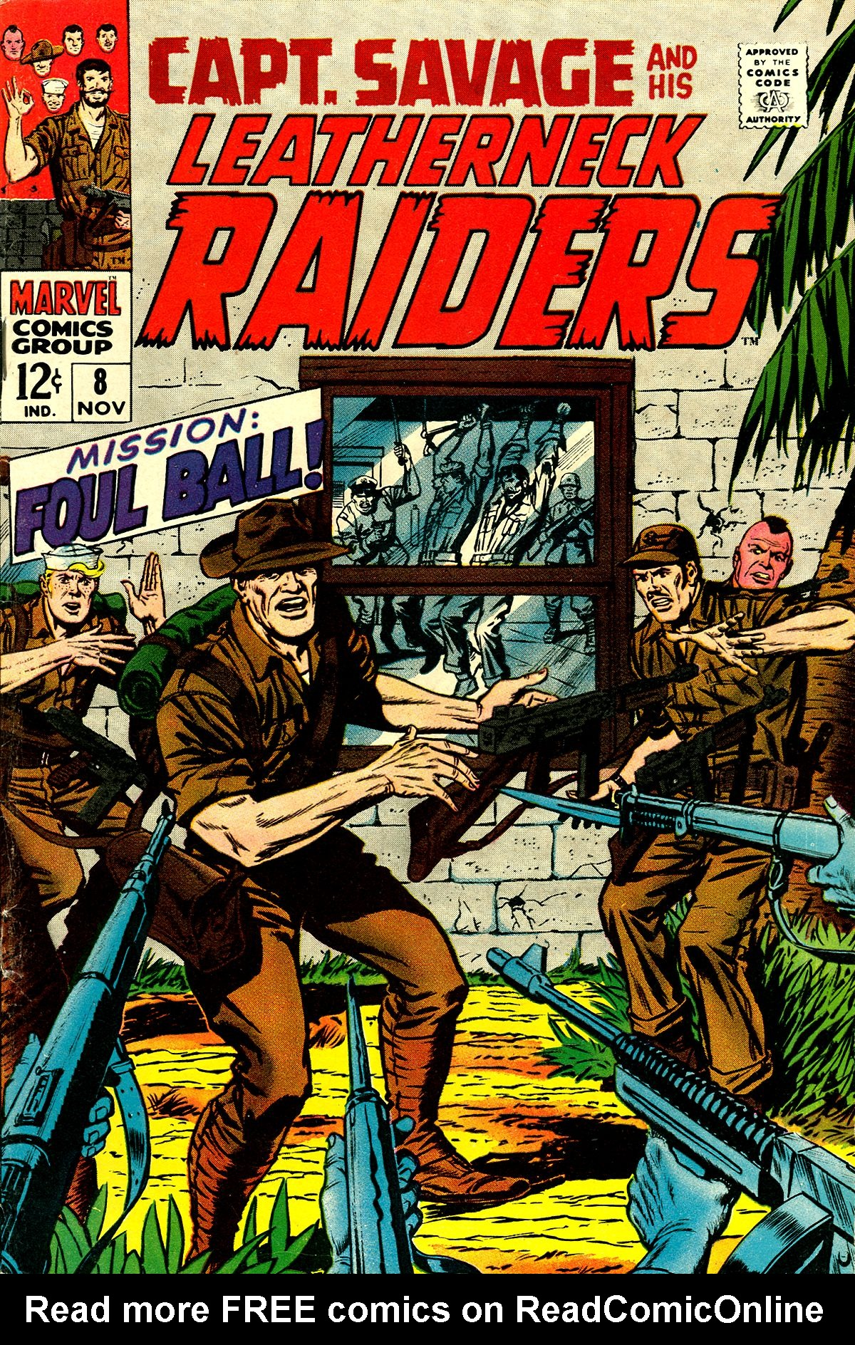 Captain Savage and his Leatherneck Raiders 8 Page 1
