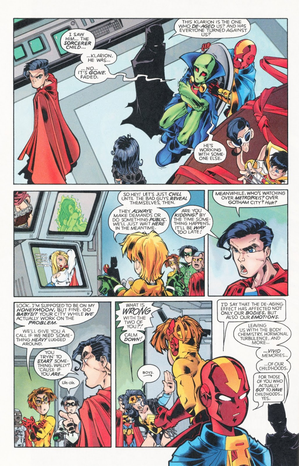 Sins of Youth issue JLA Jr. - Page 22