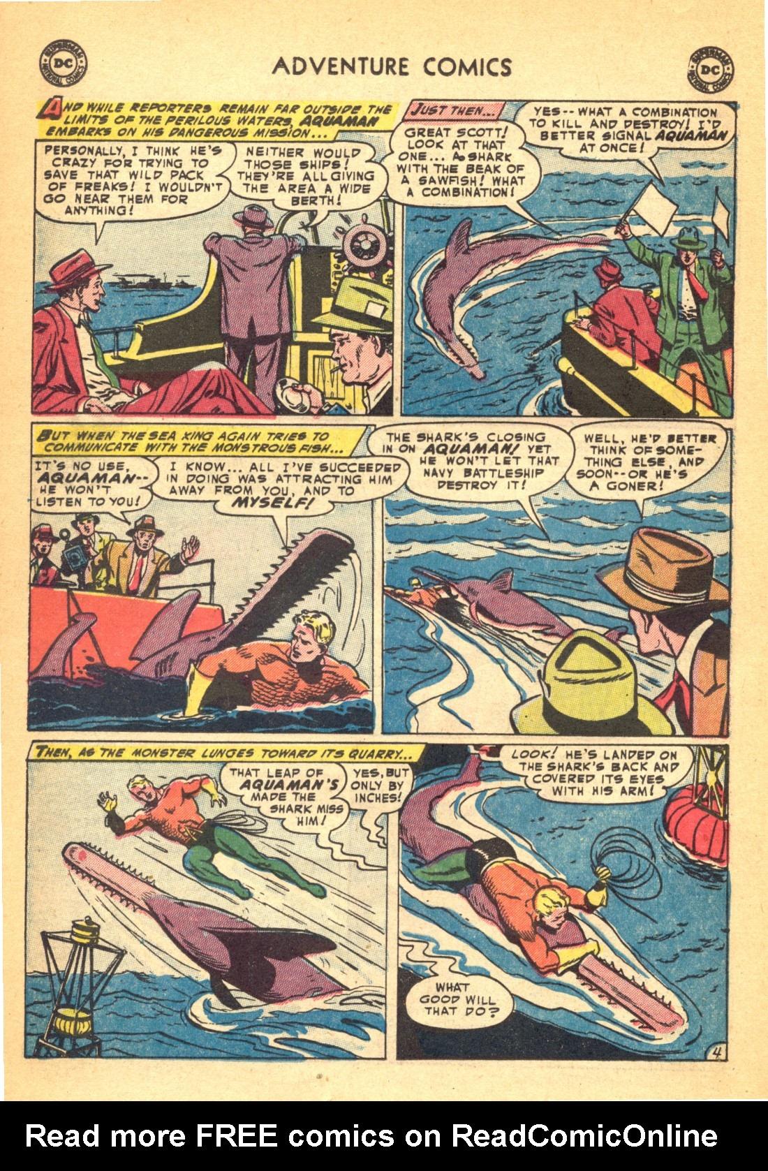 Read online Adventure Comics (1938) comic -  Issue #202 - 28