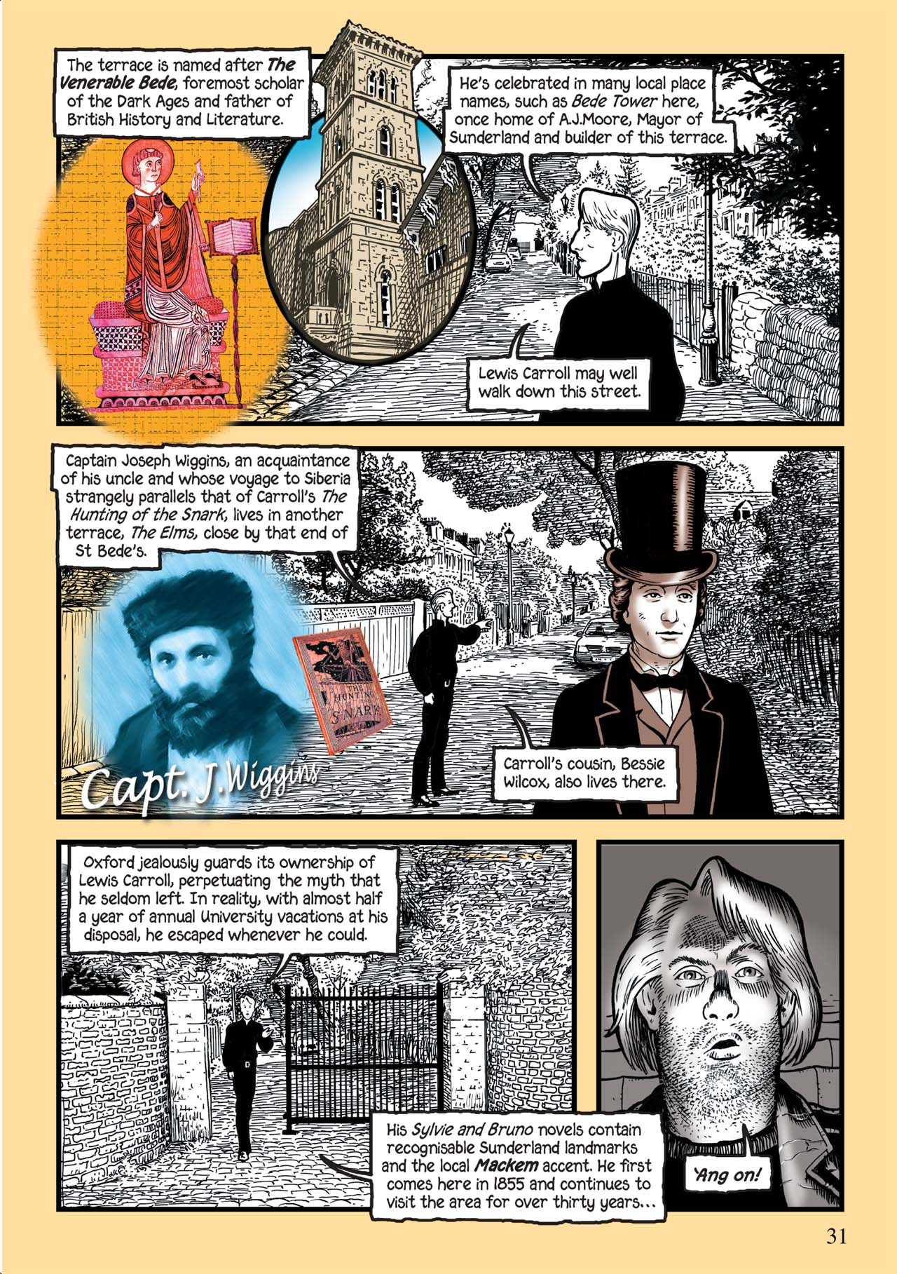 Read online Alice in Sunderland comic -  Issue # Full - 35