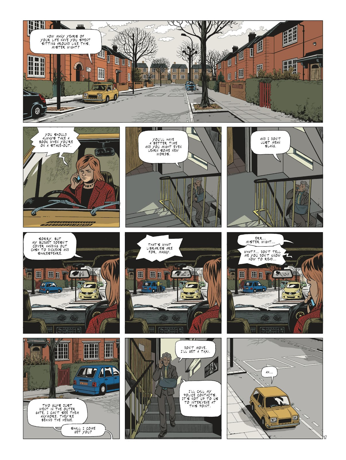 Read online Maggy Garrisson comic -  Issue #2 - 44