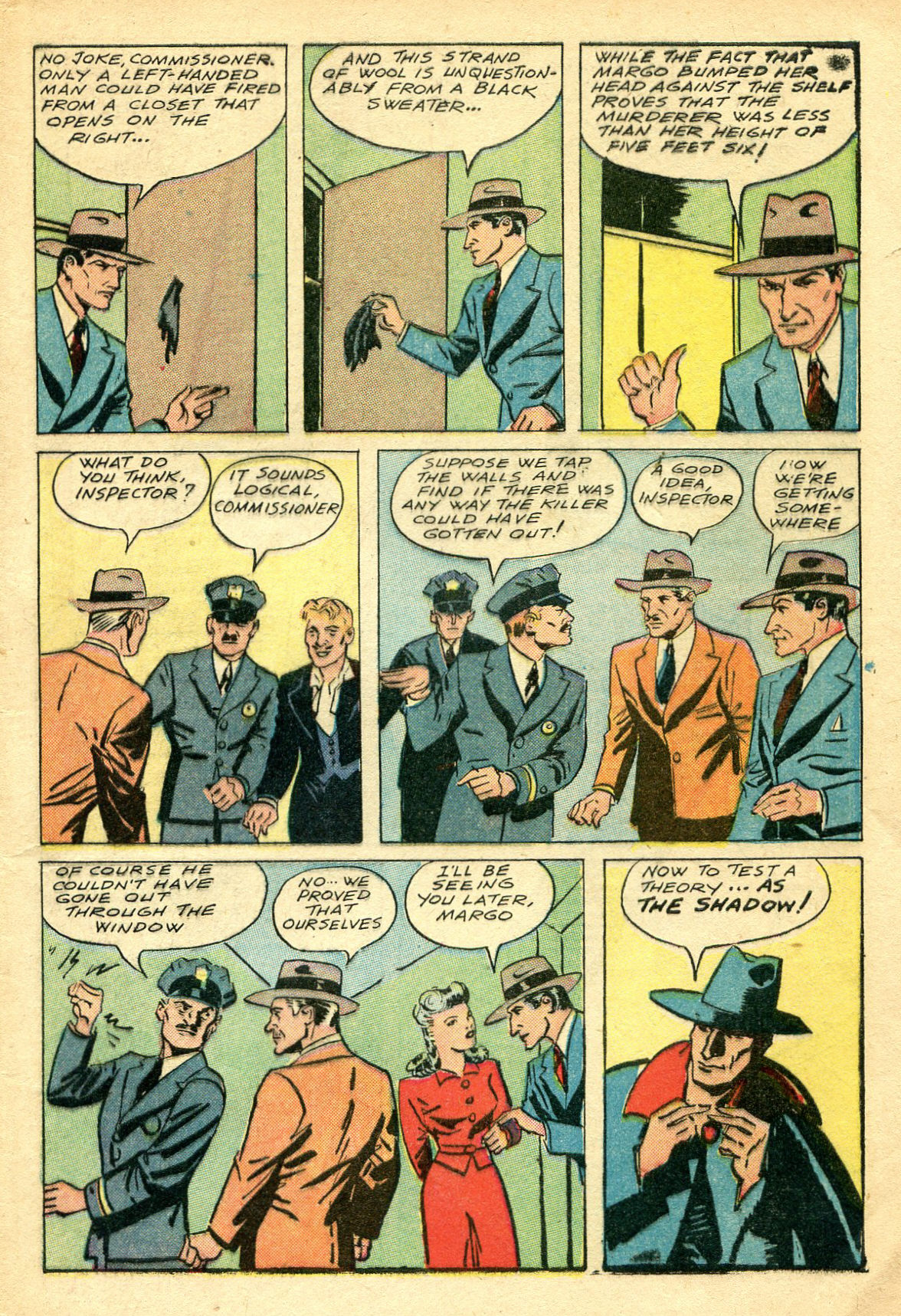 Read online Shadow Comics comic -  Issue #44 - 6
