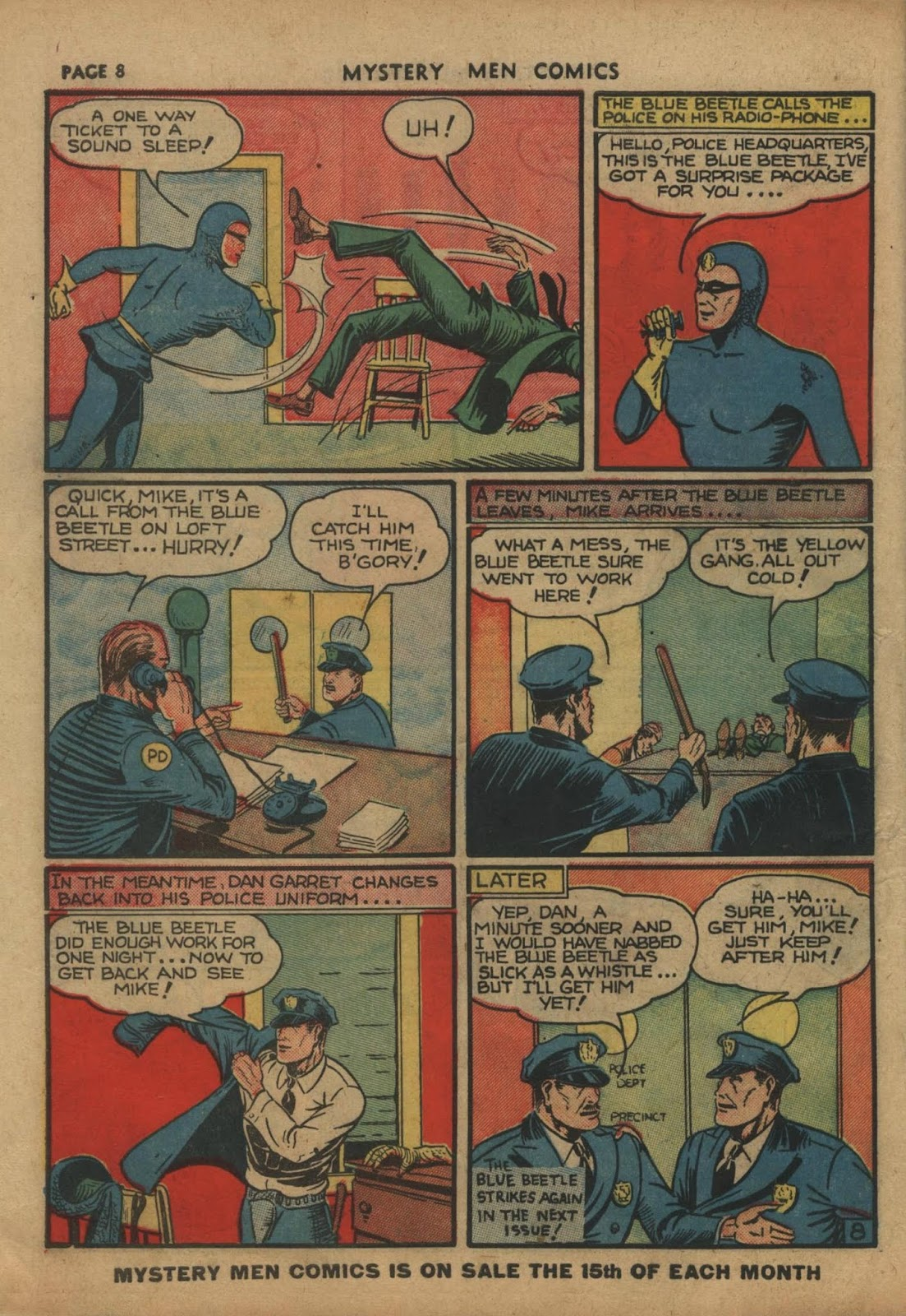 Mystery Men Comics issue 10 - Page 10