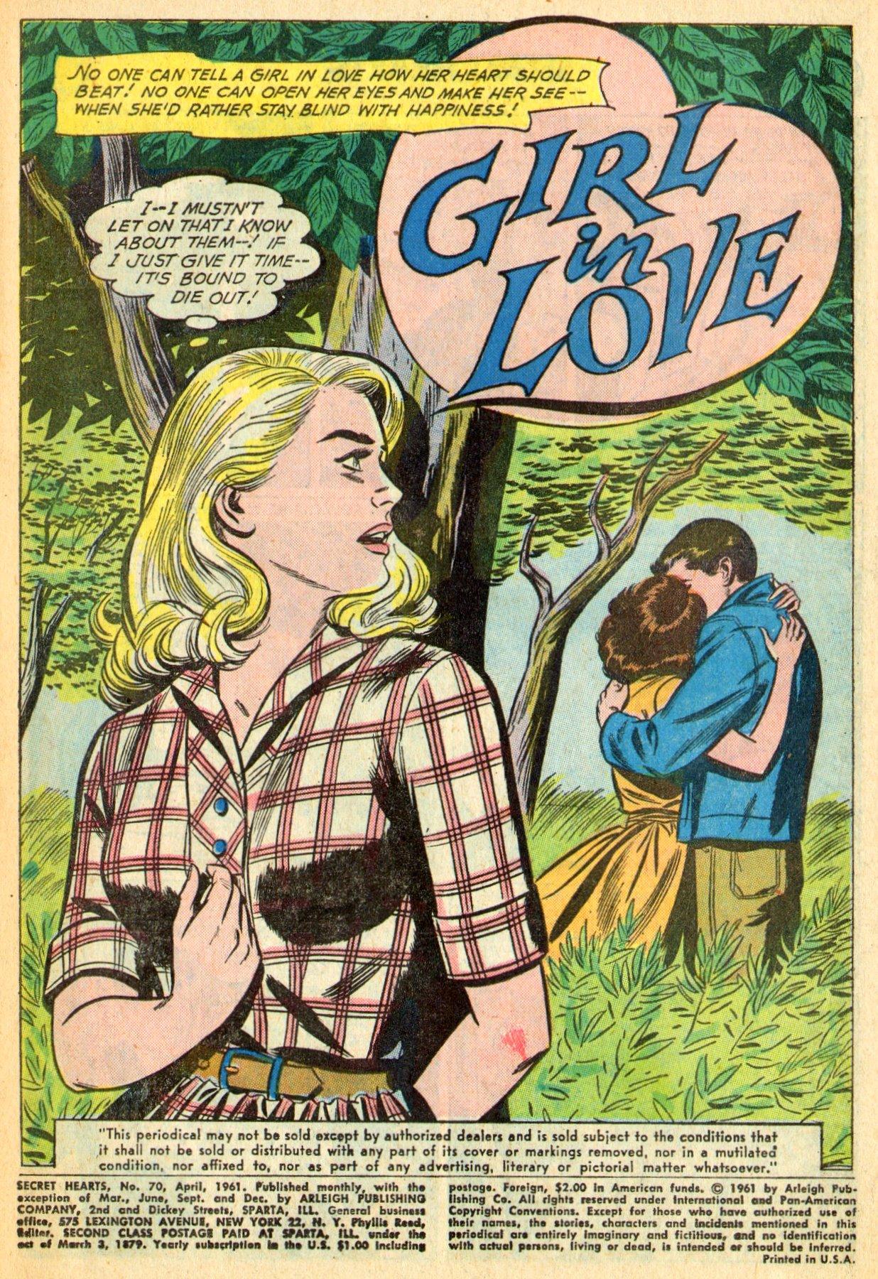 Read online Secret Hearts comic -  Issue #70 - 3