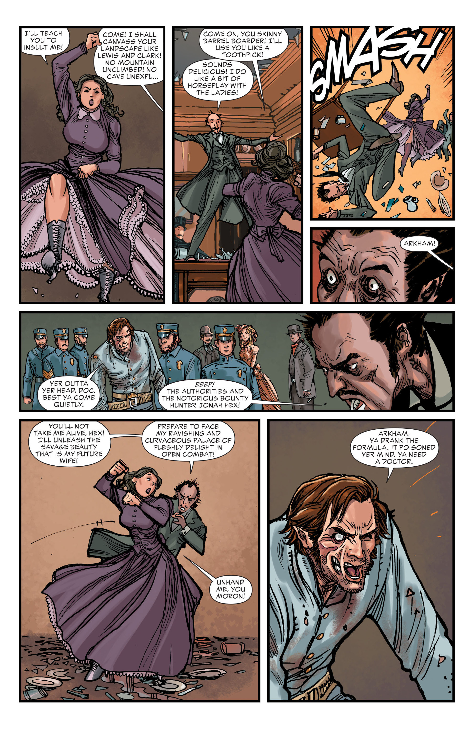 Read online All-Star Western (2011) comic -  Issue #15 - 17