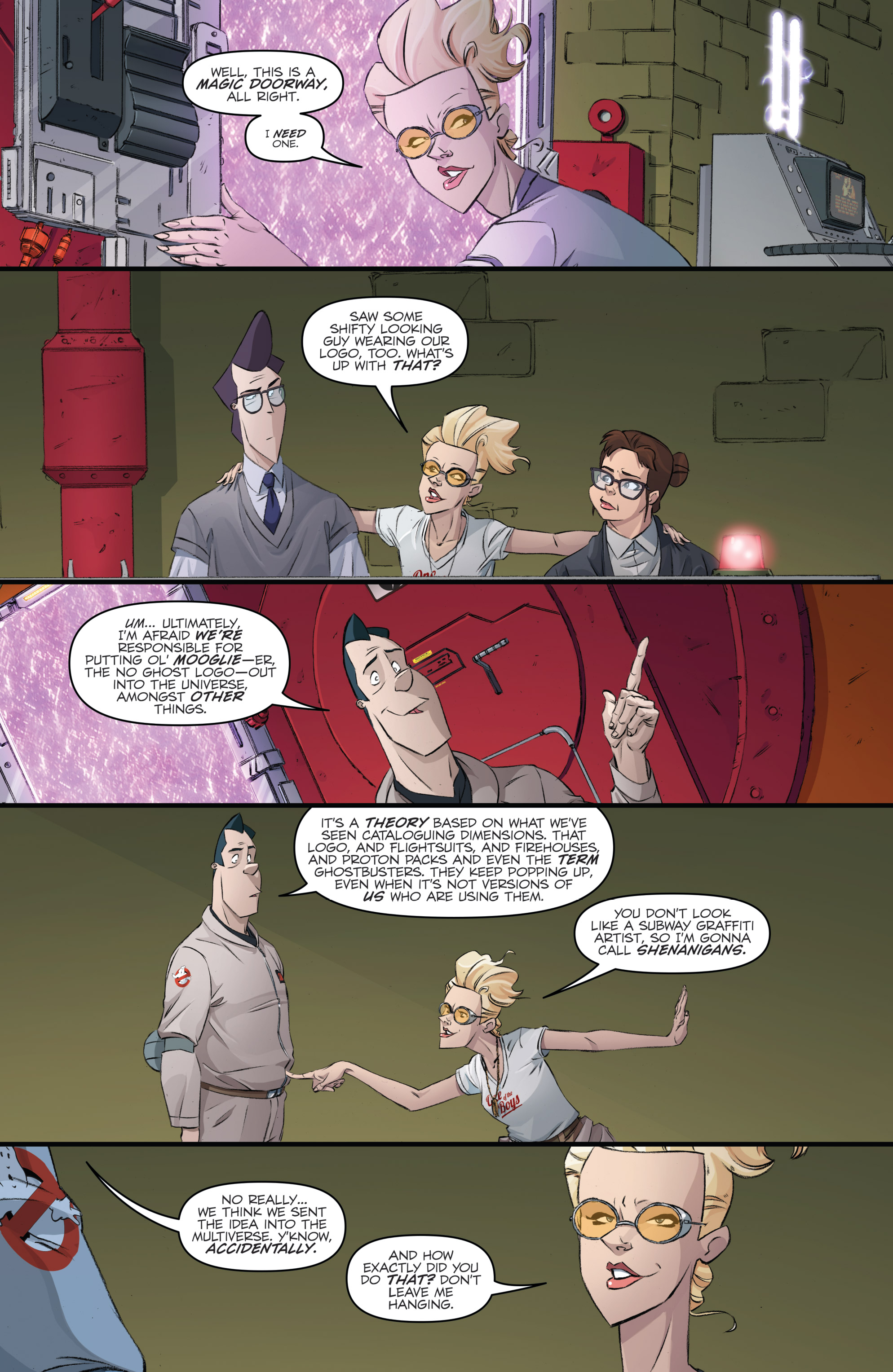 Read online Ghostbusters 101 comic -  Issue #3 - 21