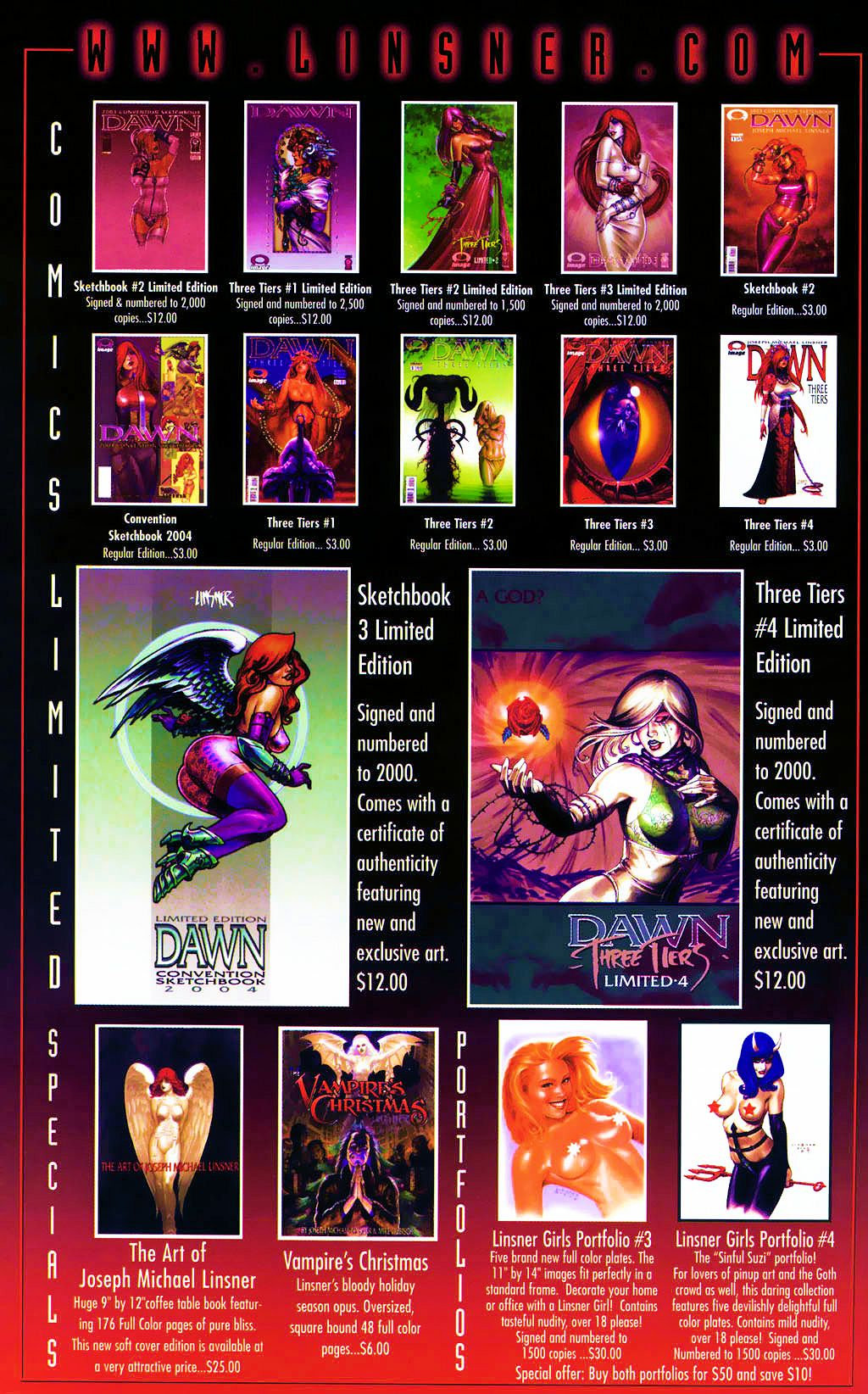 Read online Dawn: Three Tiers comic -  Issue #4 - 29