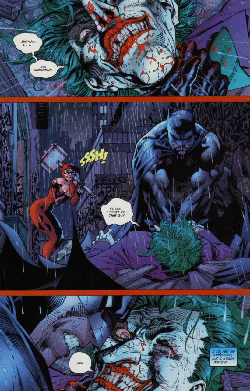 Read online Batman: Hush comic -  Issue #7 - 6