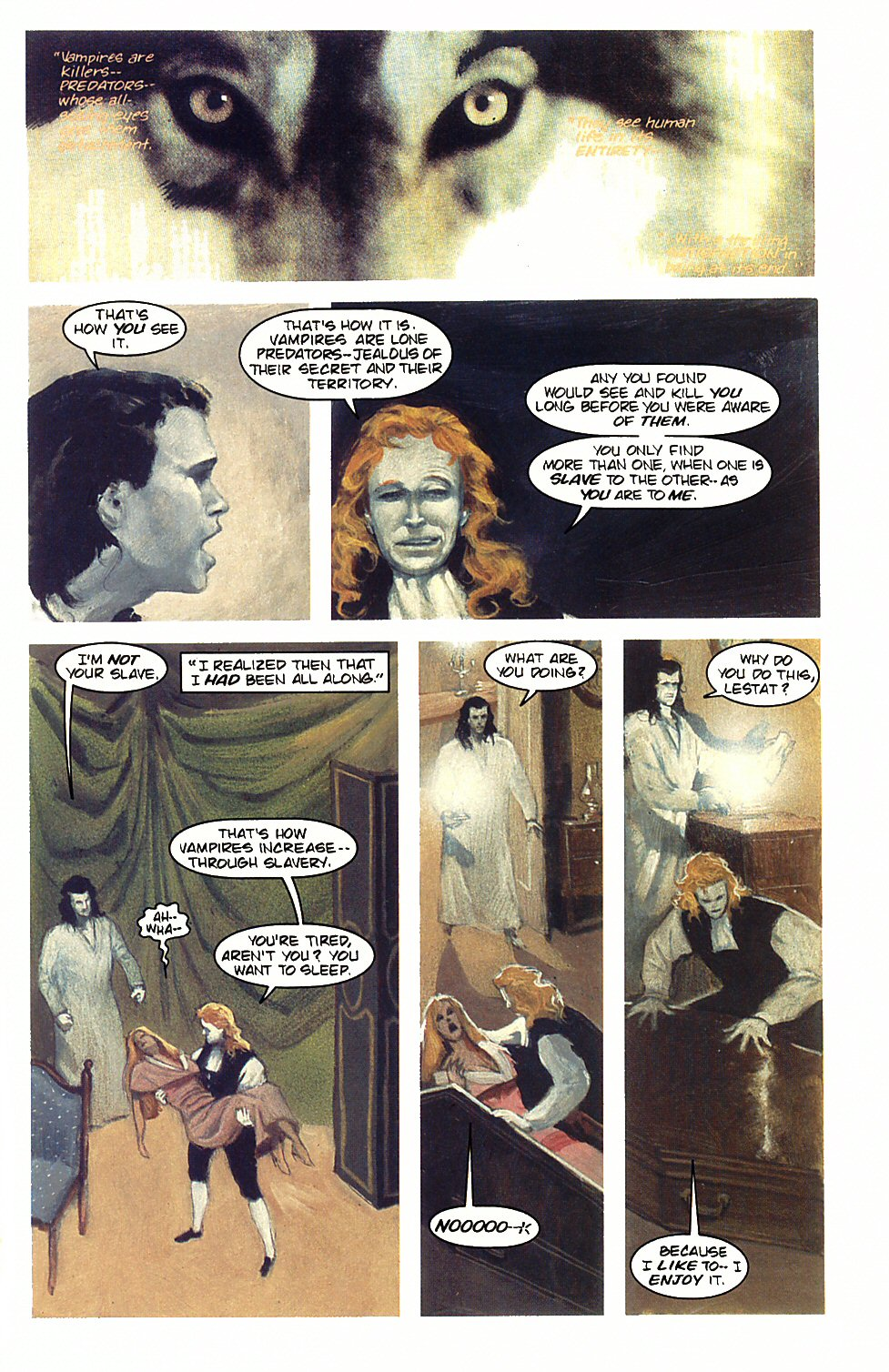 Read online Anne Rice's Interview with the Vampire comic -  Issue #3 - 21