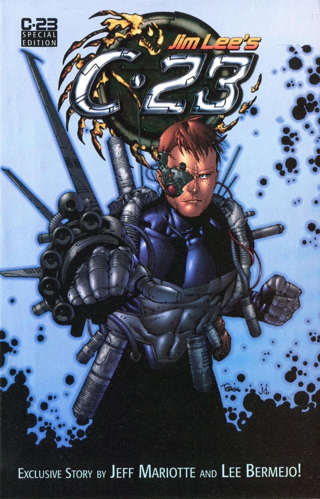 Read online C-23 comic -  Issue # _Ashcan - 1