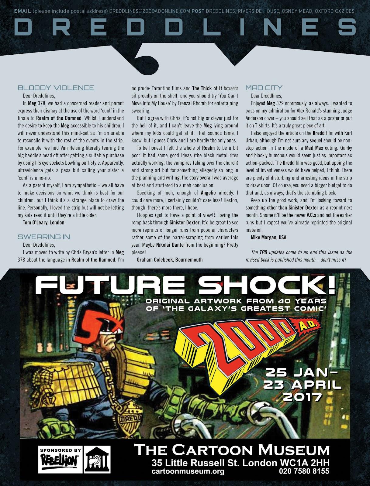 Judge Dredd Megazine (Vol. 5) Issue #381 #180 - English 62