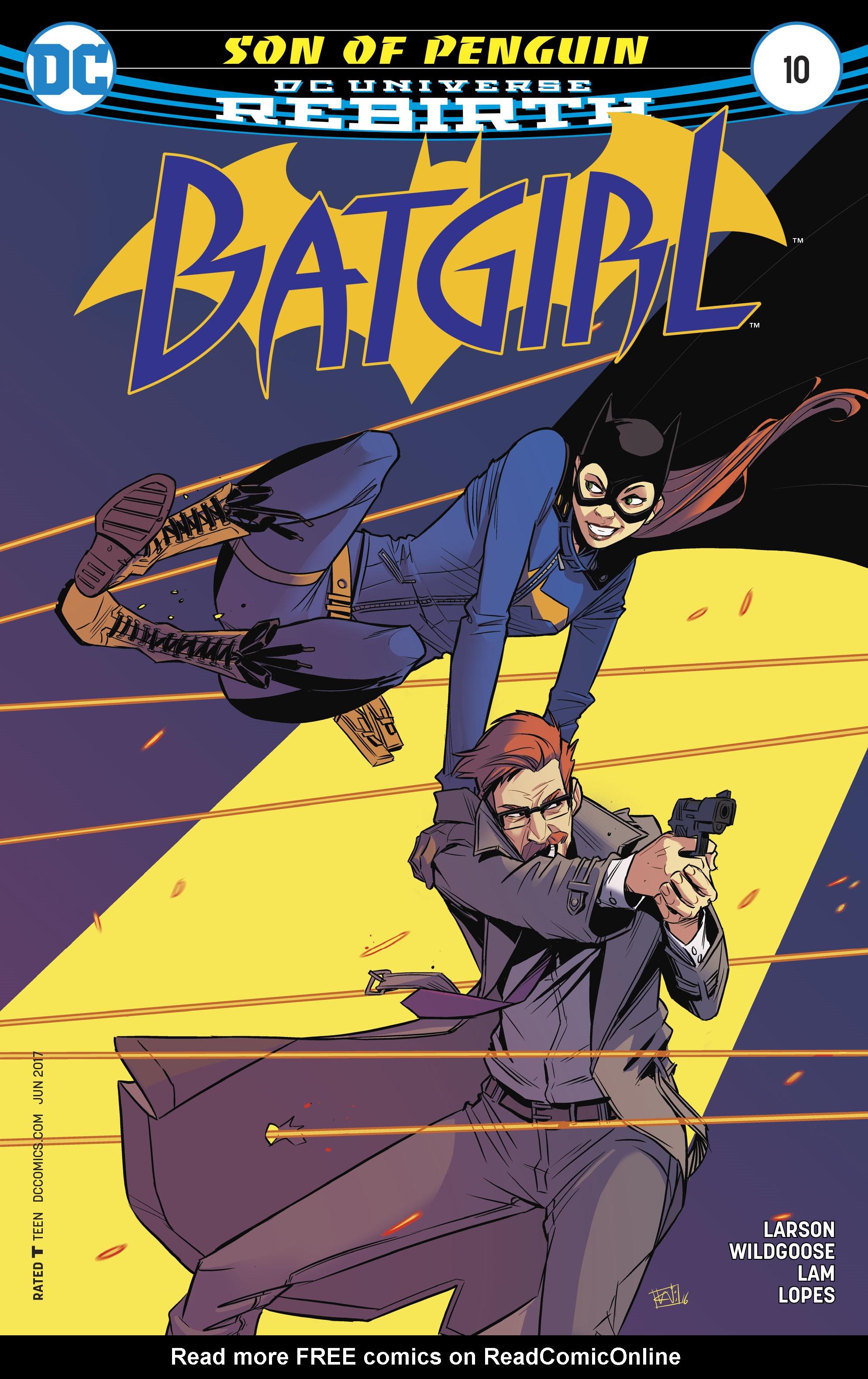 Batgirl (2016) 10 Page 1