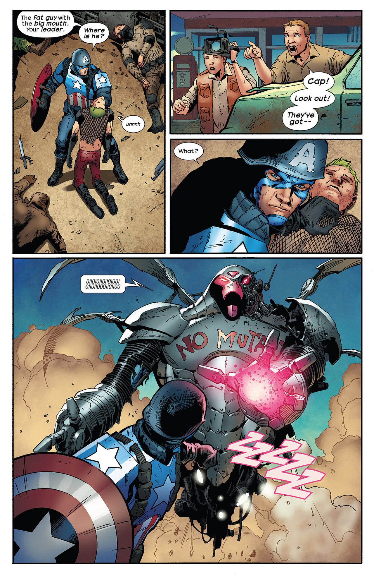 Read online Ultimate Comics Ultimates comic -  Issue #13 - 16