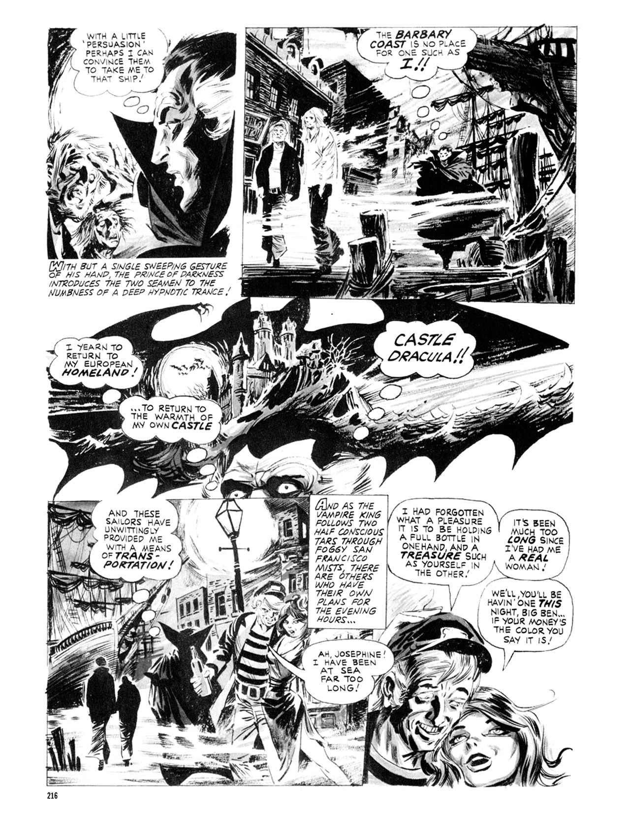 Read online Eerie Archives comic -  Issue # TPB 9 - 217