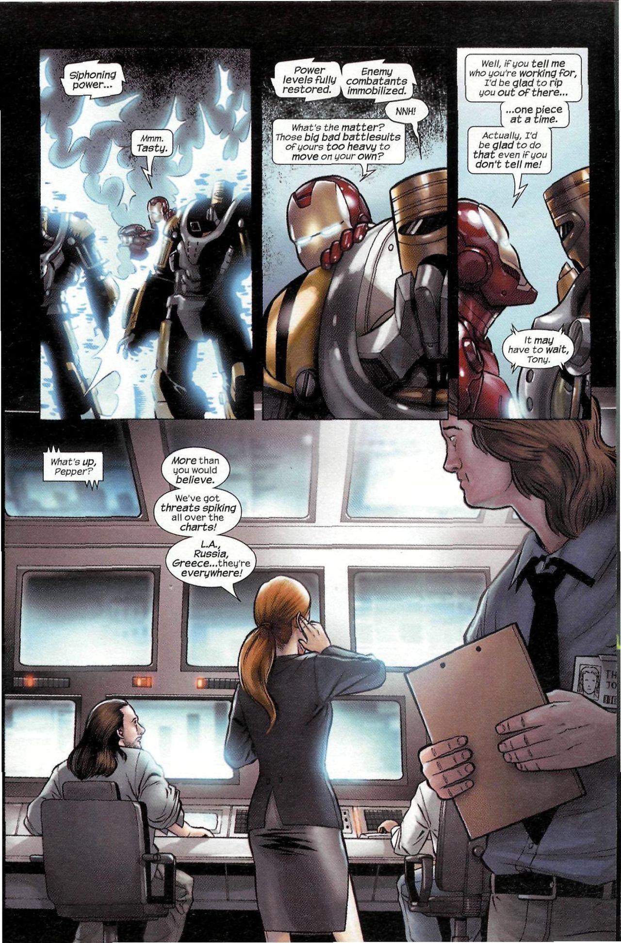 Read online Sega Iron Man Special comic -  Issue # Full - 17