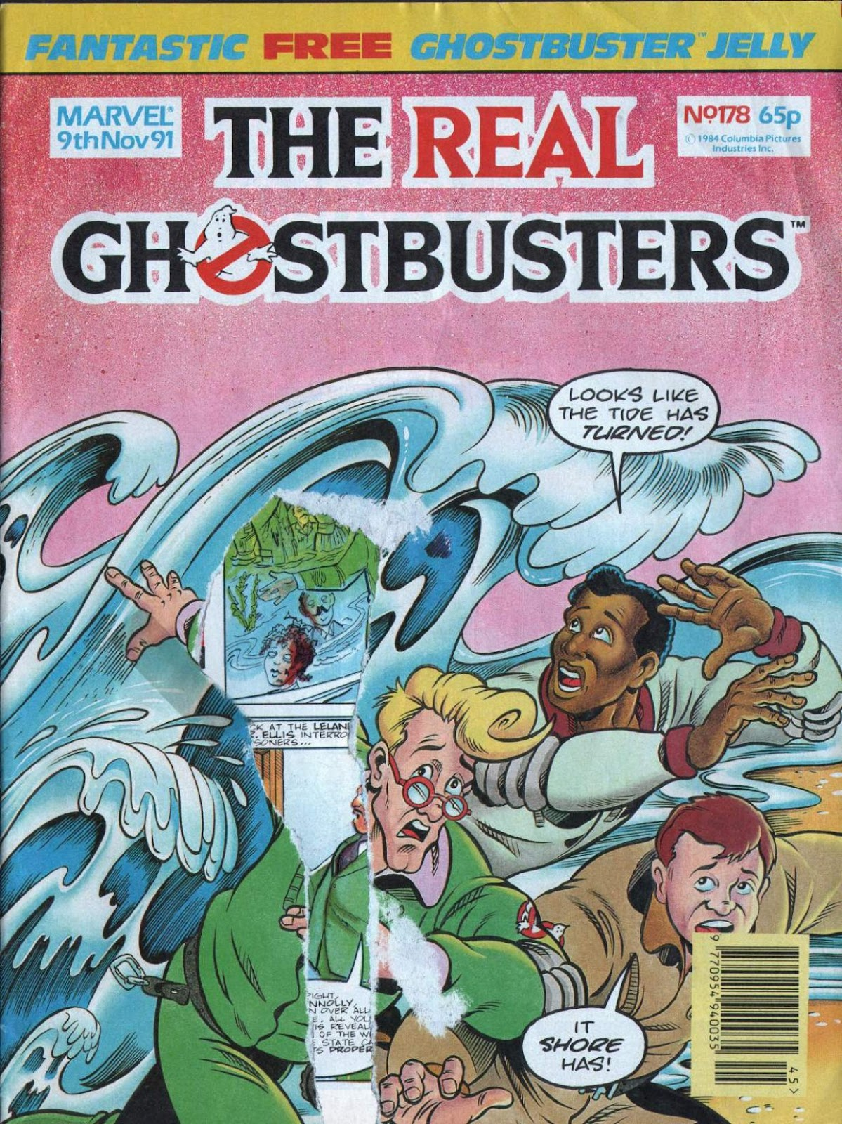 The Real Ghostbusters 178 Page 1