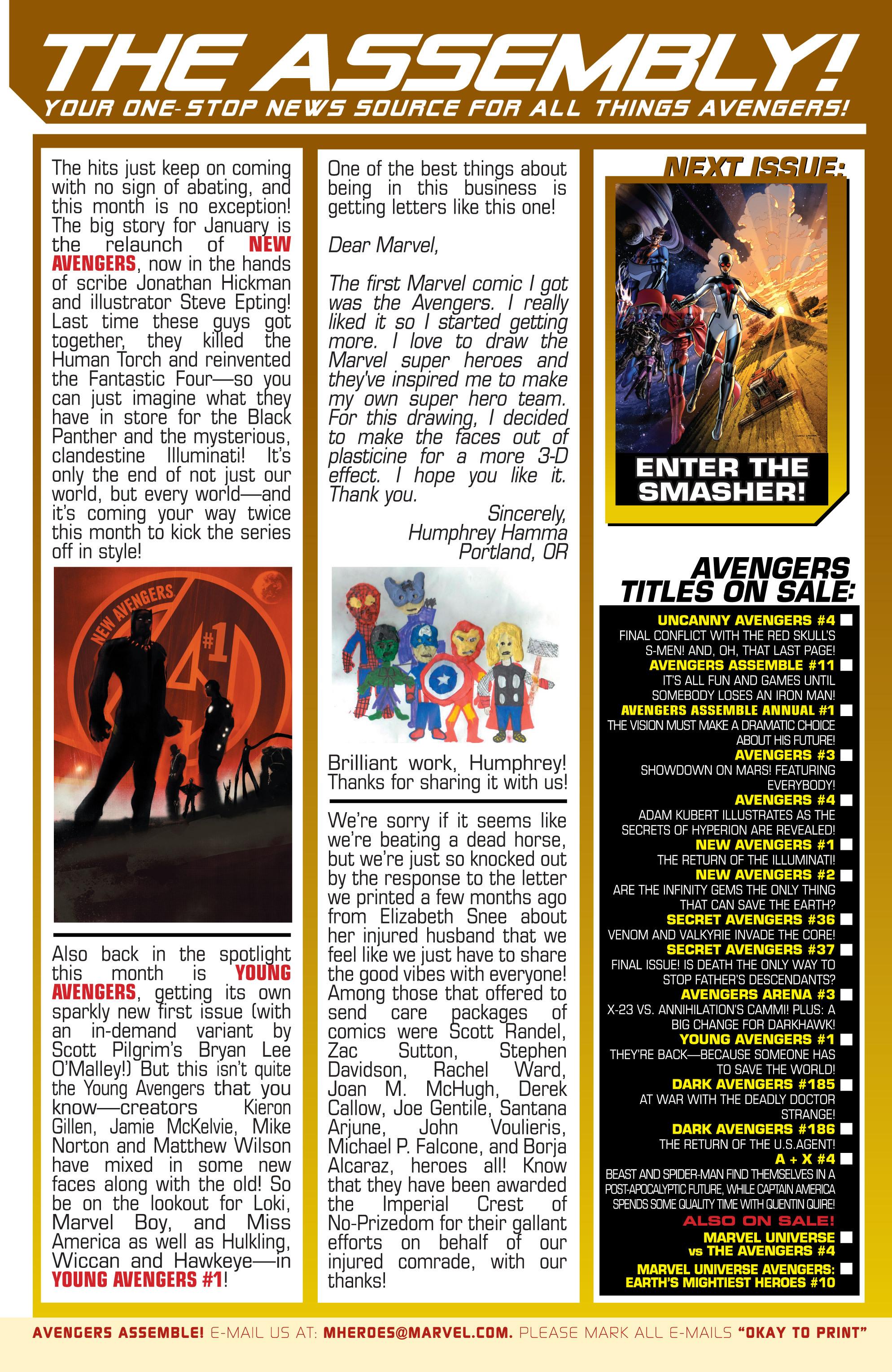 Read online Avengers (2013) comic -  Issue #Avengers (2013) _TPB 1 - 102
