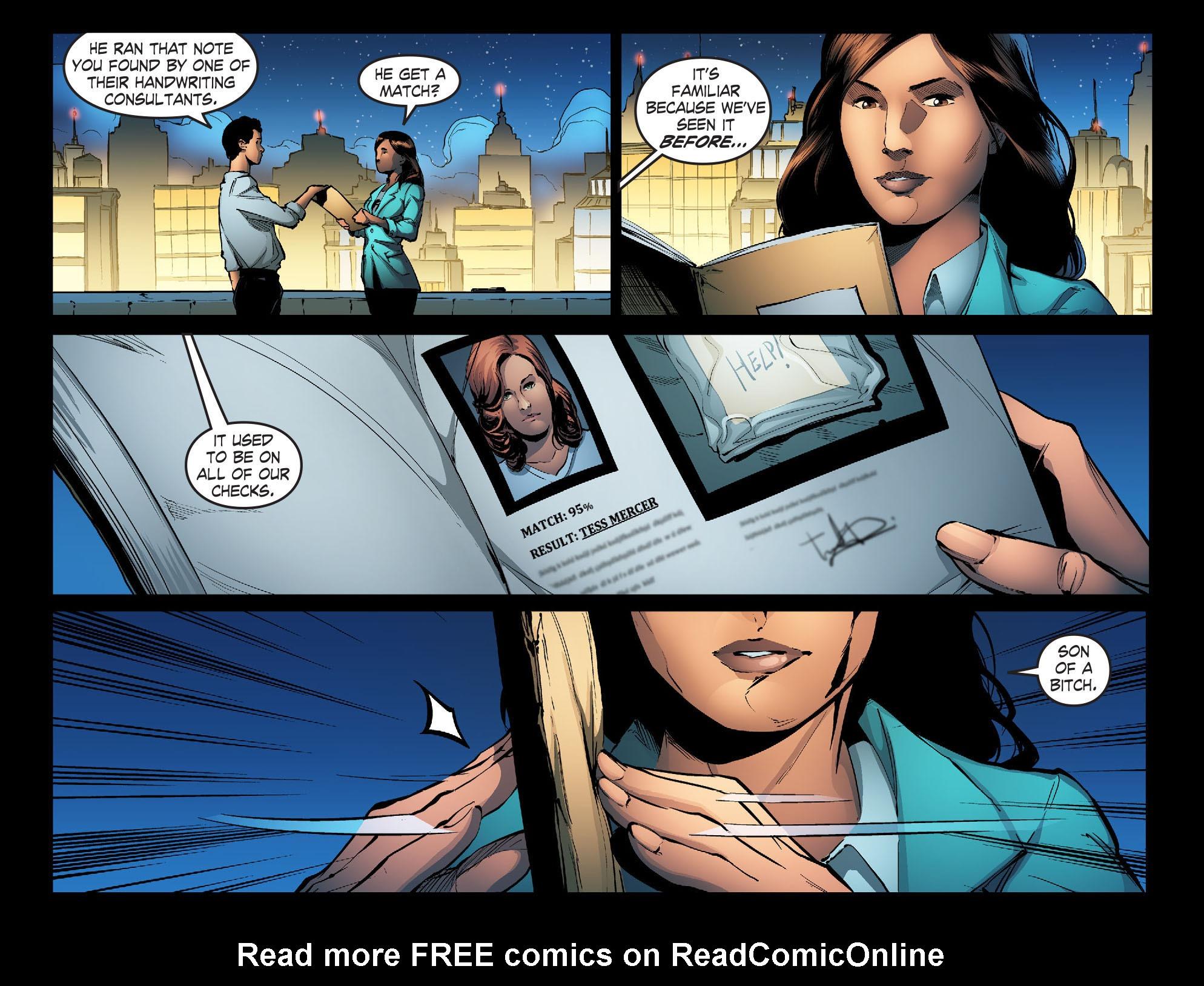 Read online Smallville: Season 11 comic -  Issue #31 - 8