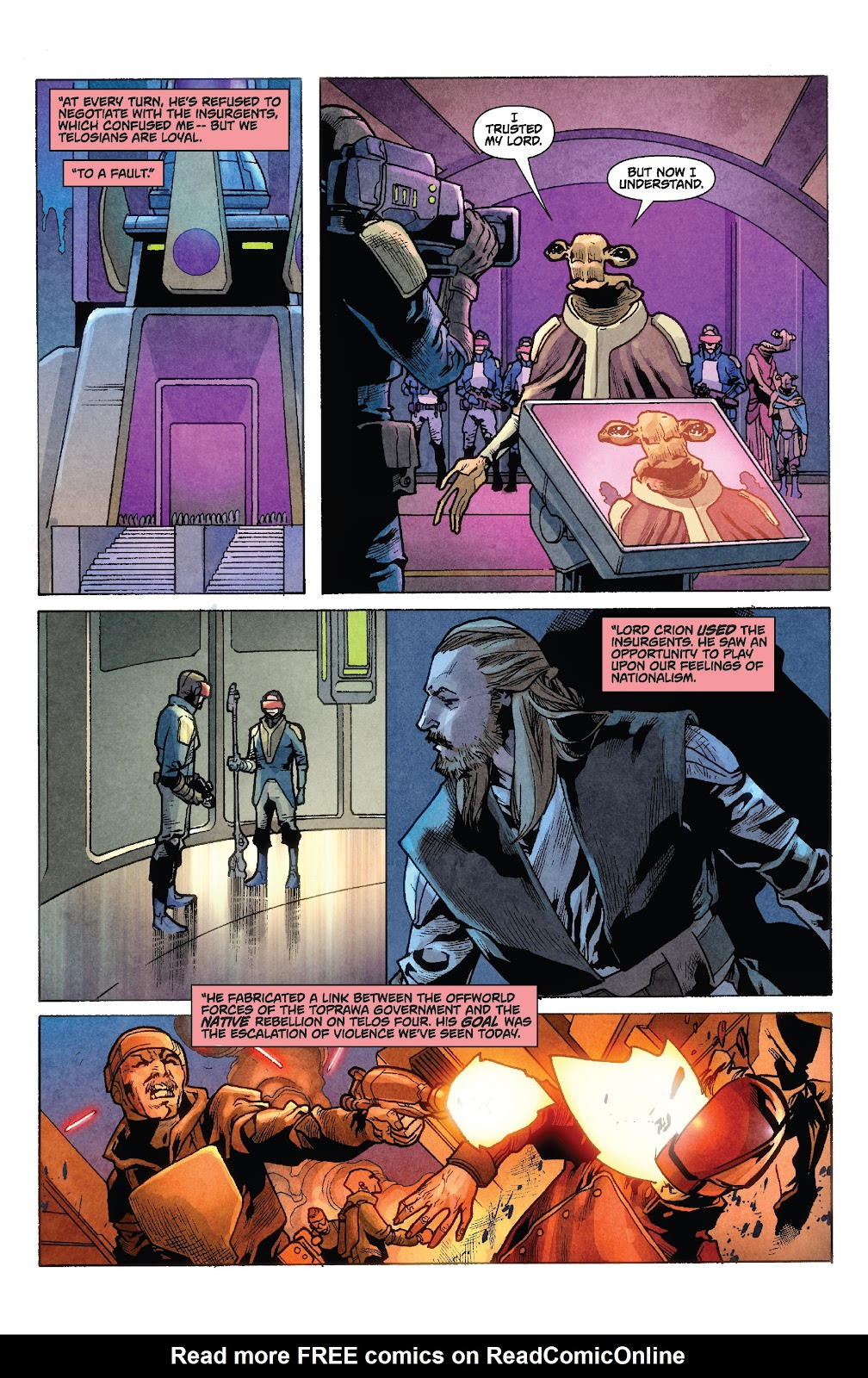 Read online Star Wars Legends: Rise of the Sith - Epic Collection comic -  Issue # TPB 1 (Part 2) - 86