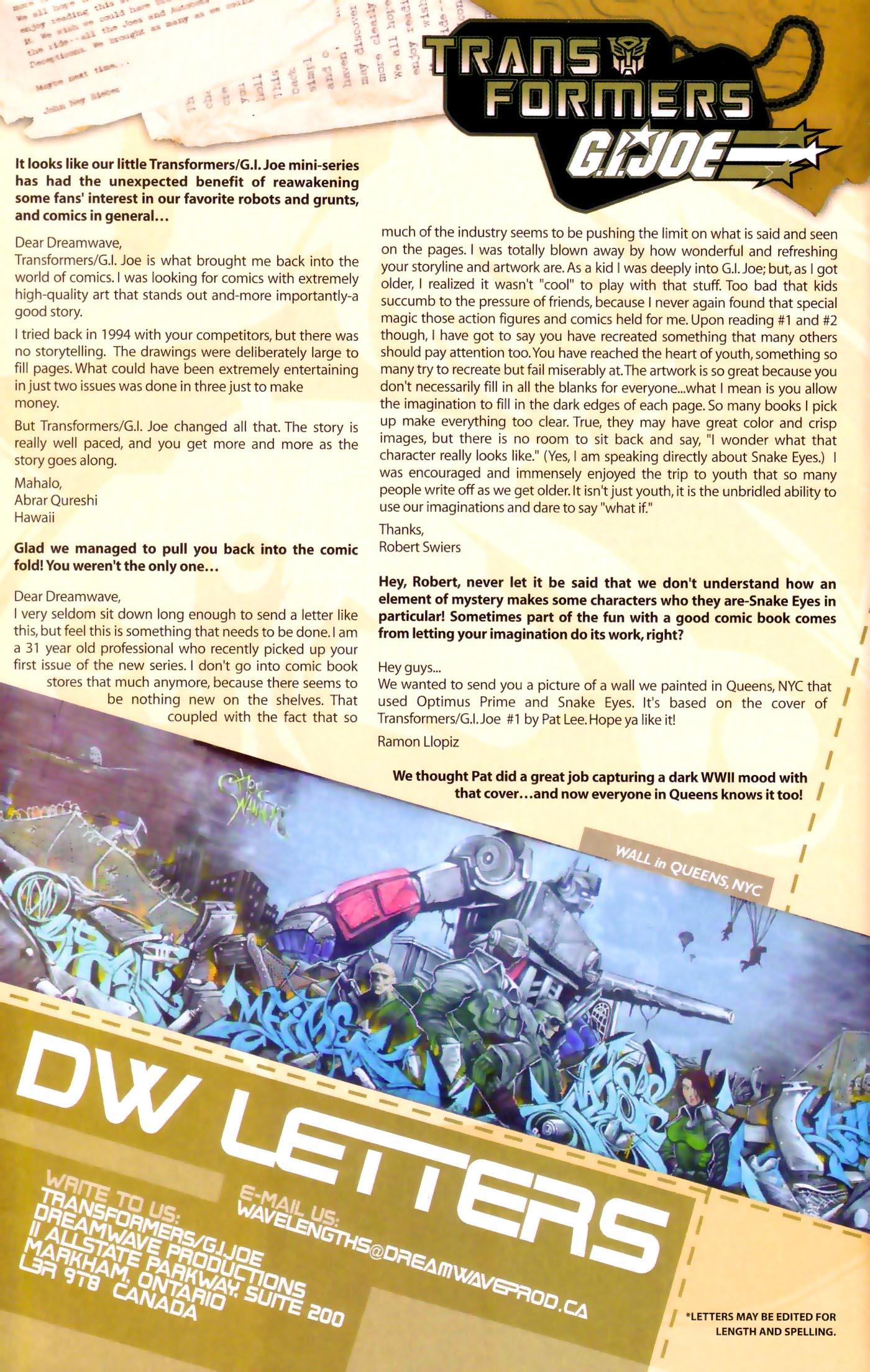 Read online Transformers/G.I. Joe comic -  Issue #4 - 26