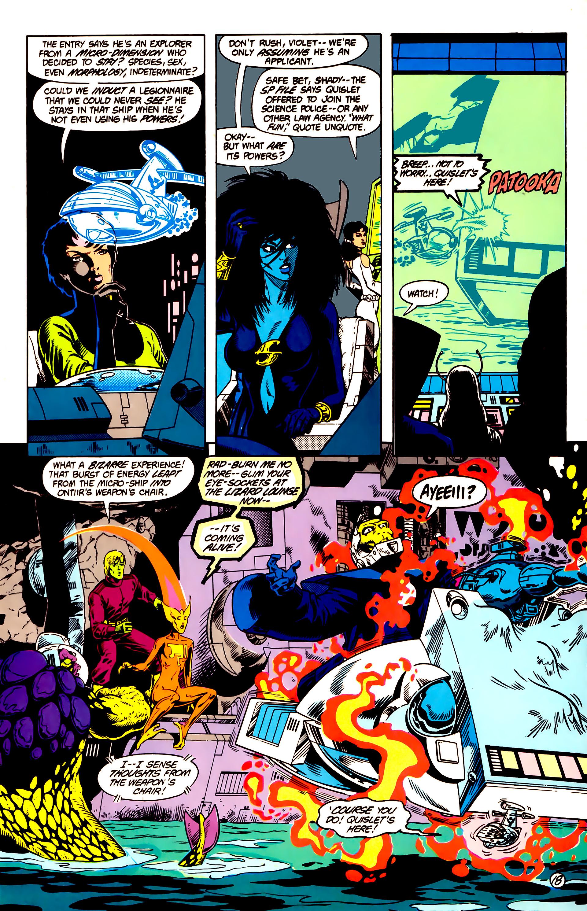 Legion of Super-Heroes (1984) 14 Page 19