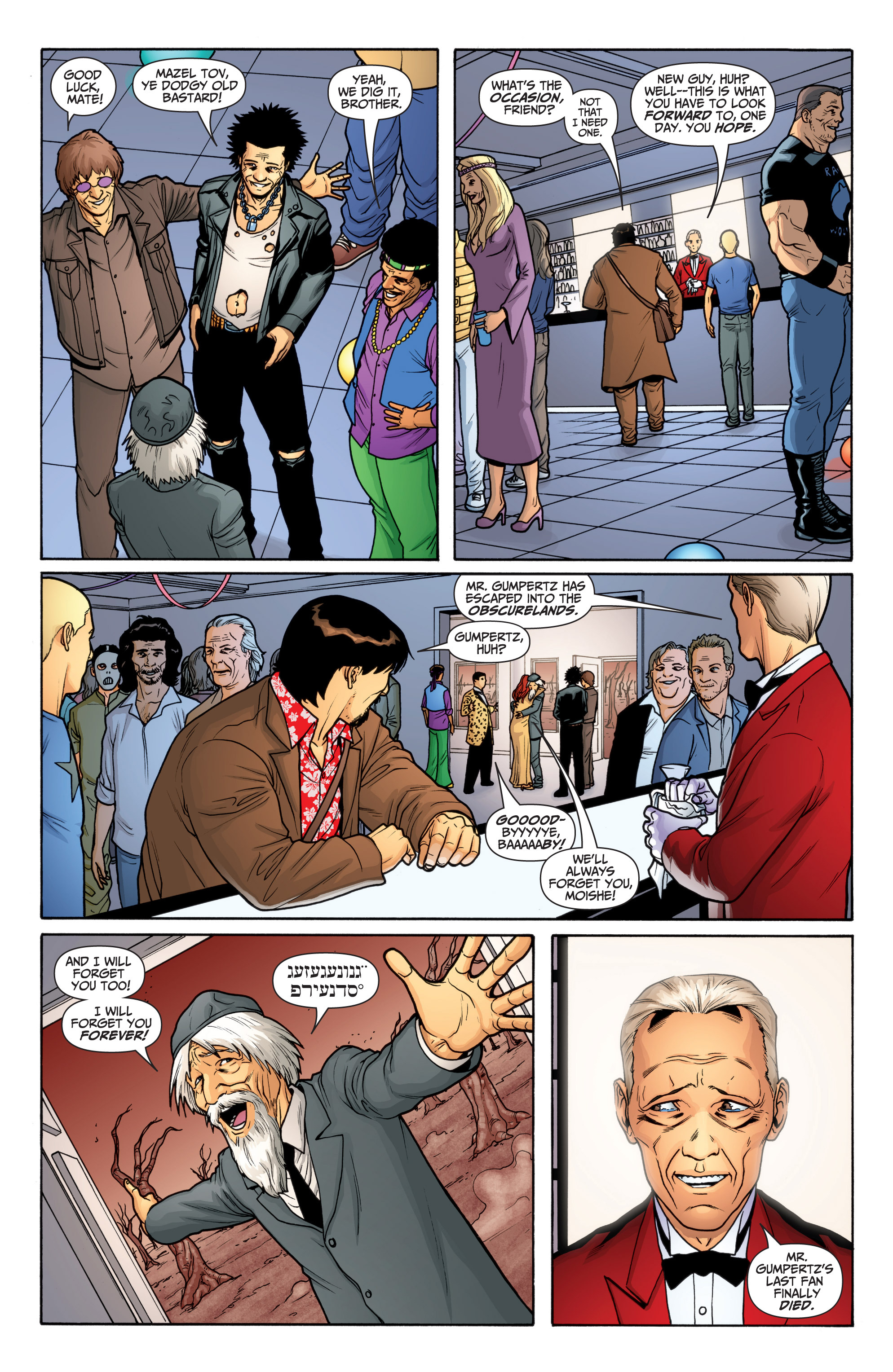 Read online Archer and Armstrong comic -  Issue #Archer and Armstrong _TPB 6 - 34
