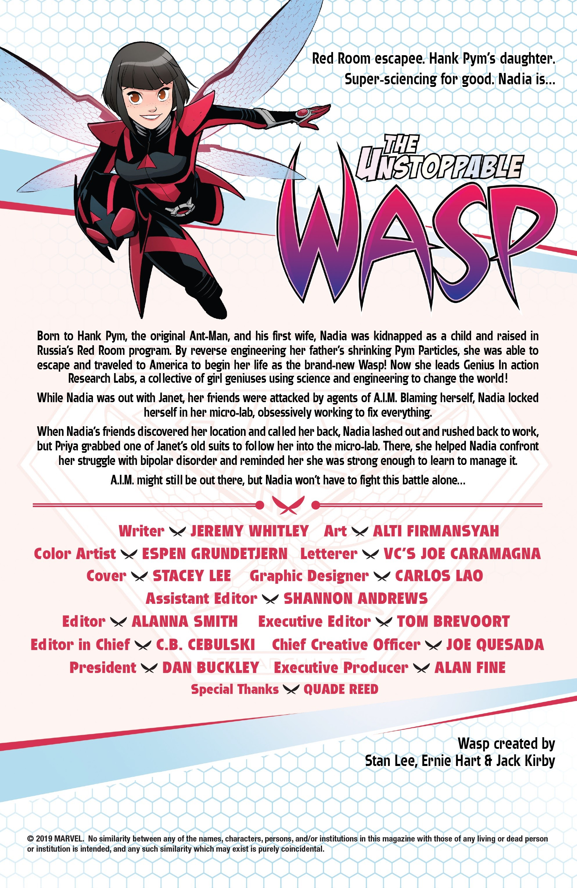 The Unstoppable Wasp (2018) 6 Page 2