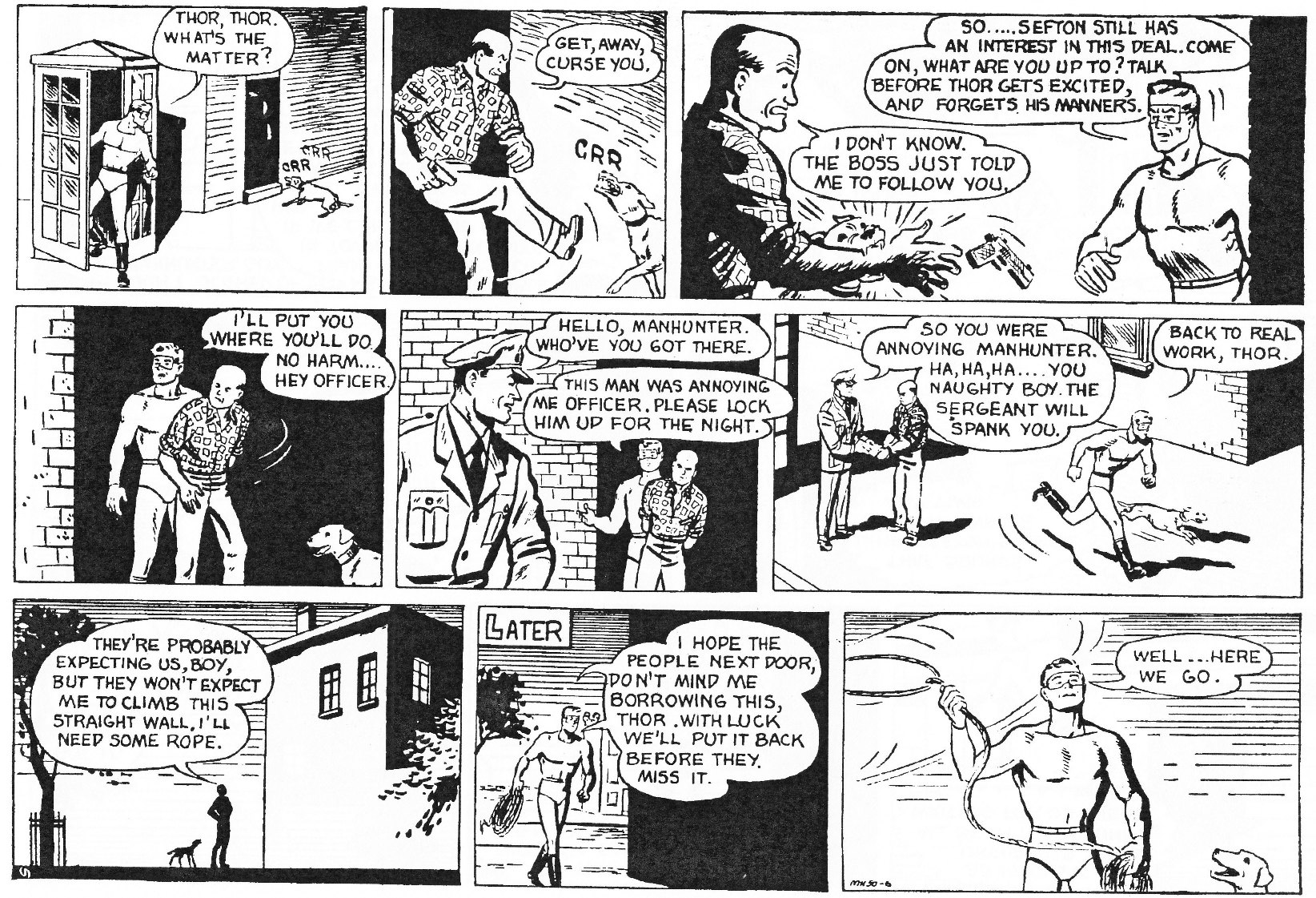 Read online Men of Mystery Comics comic -  Issue #81 - 47
