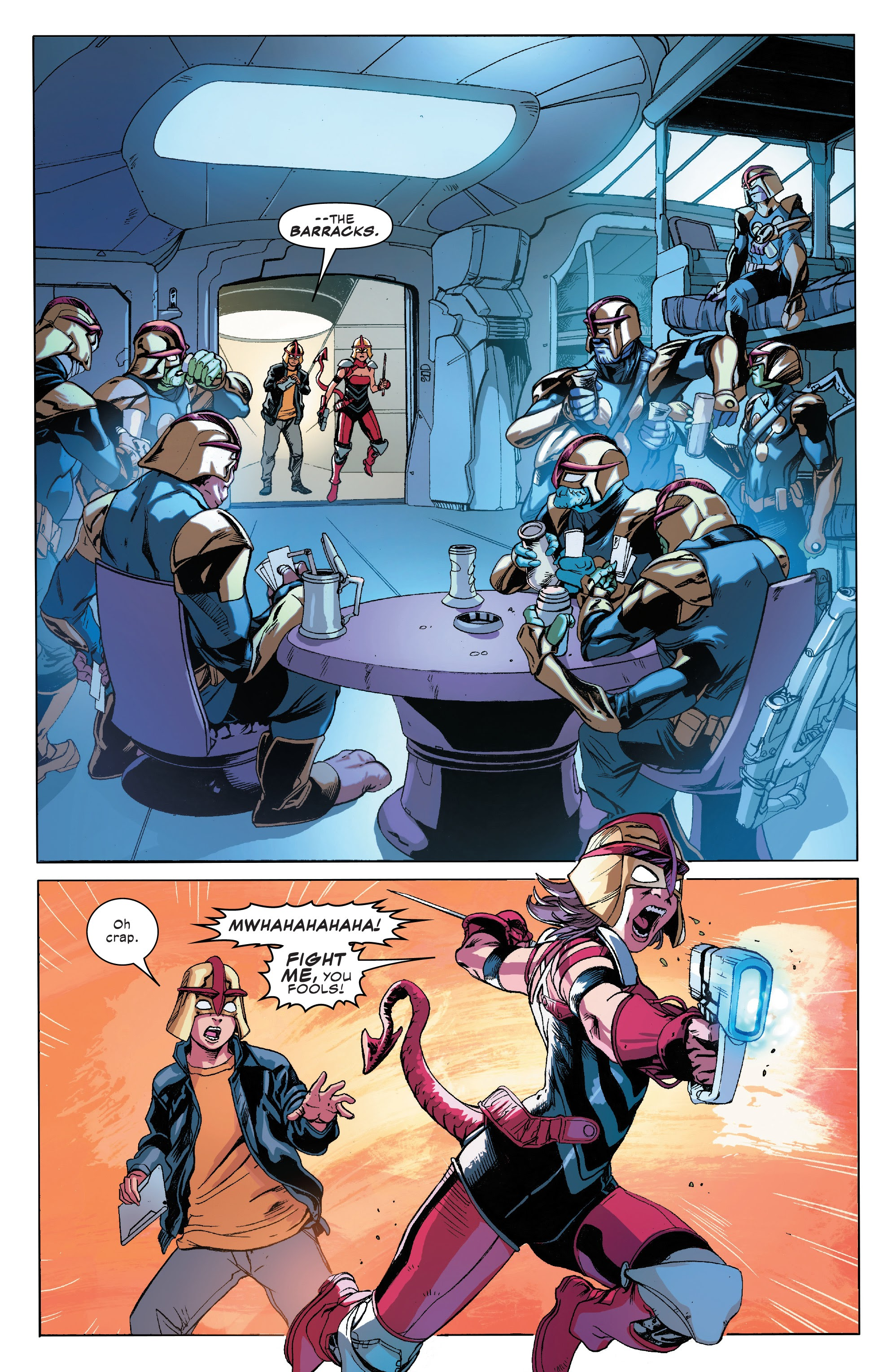 Read online Champions (2019) comic -  Issue #7 - 16